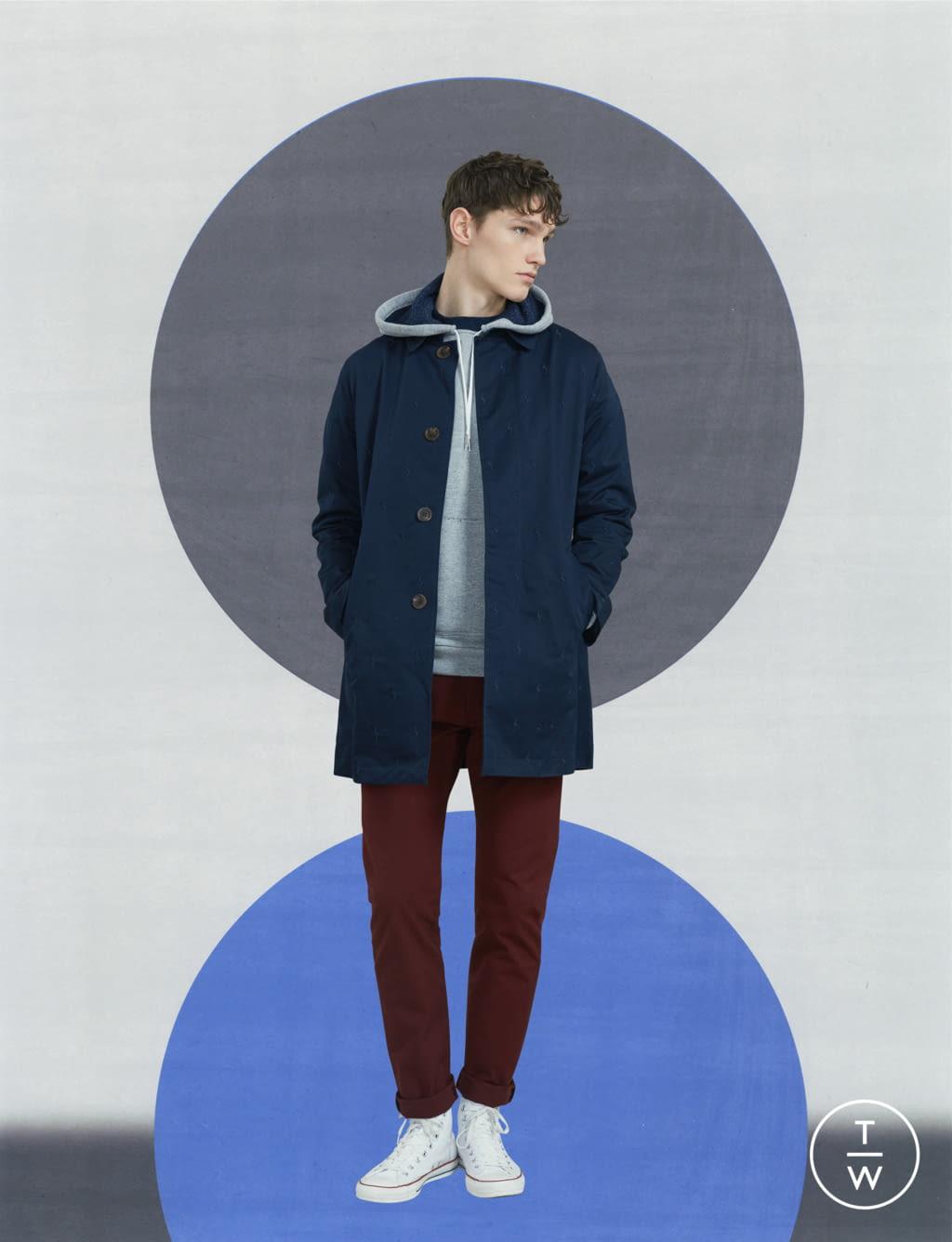 Fashion Week Paris Fall/Winter 2017 look 23 de la collection Maison Kitsuné menswear