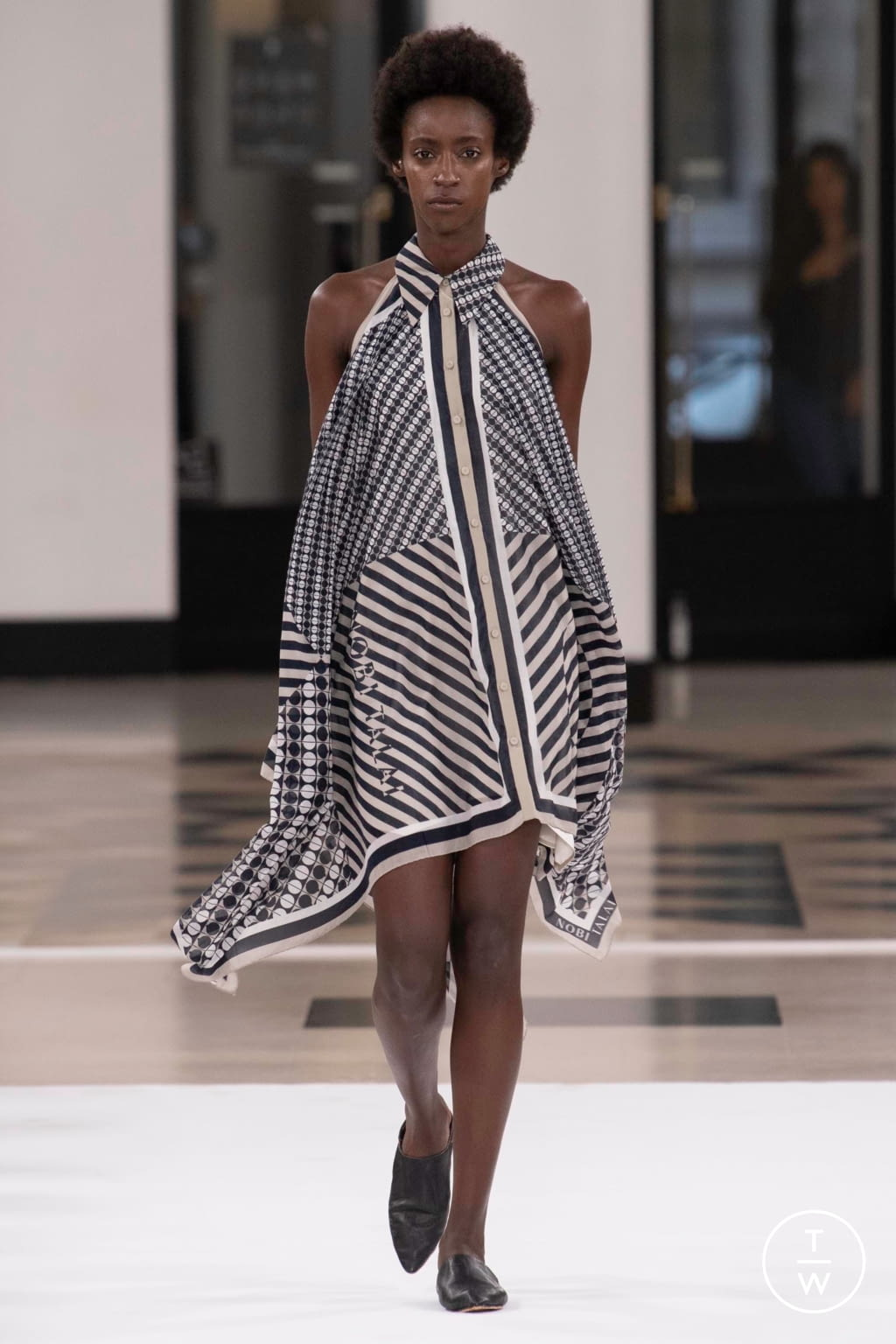 Fashion Week Paris Spring/Summer 2019 look 23 from the Nobi Talai collection womenswear