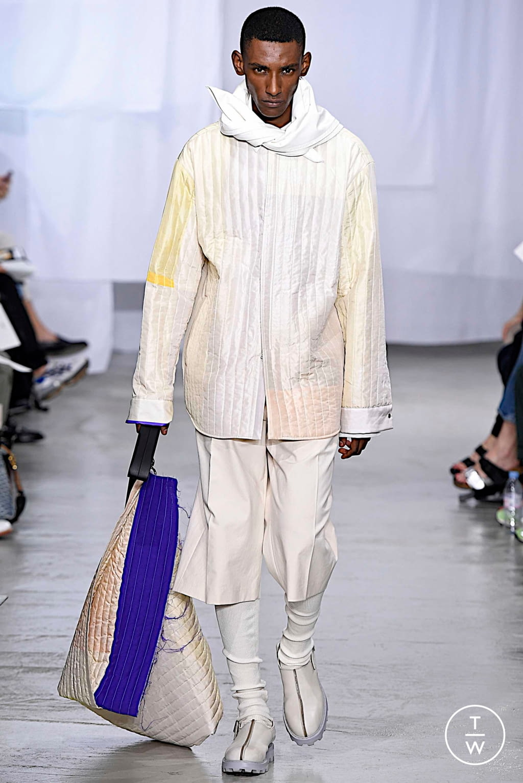 Fashion Week Paris Spring/Summer 2020 look 39 from the OAMC collection menswear