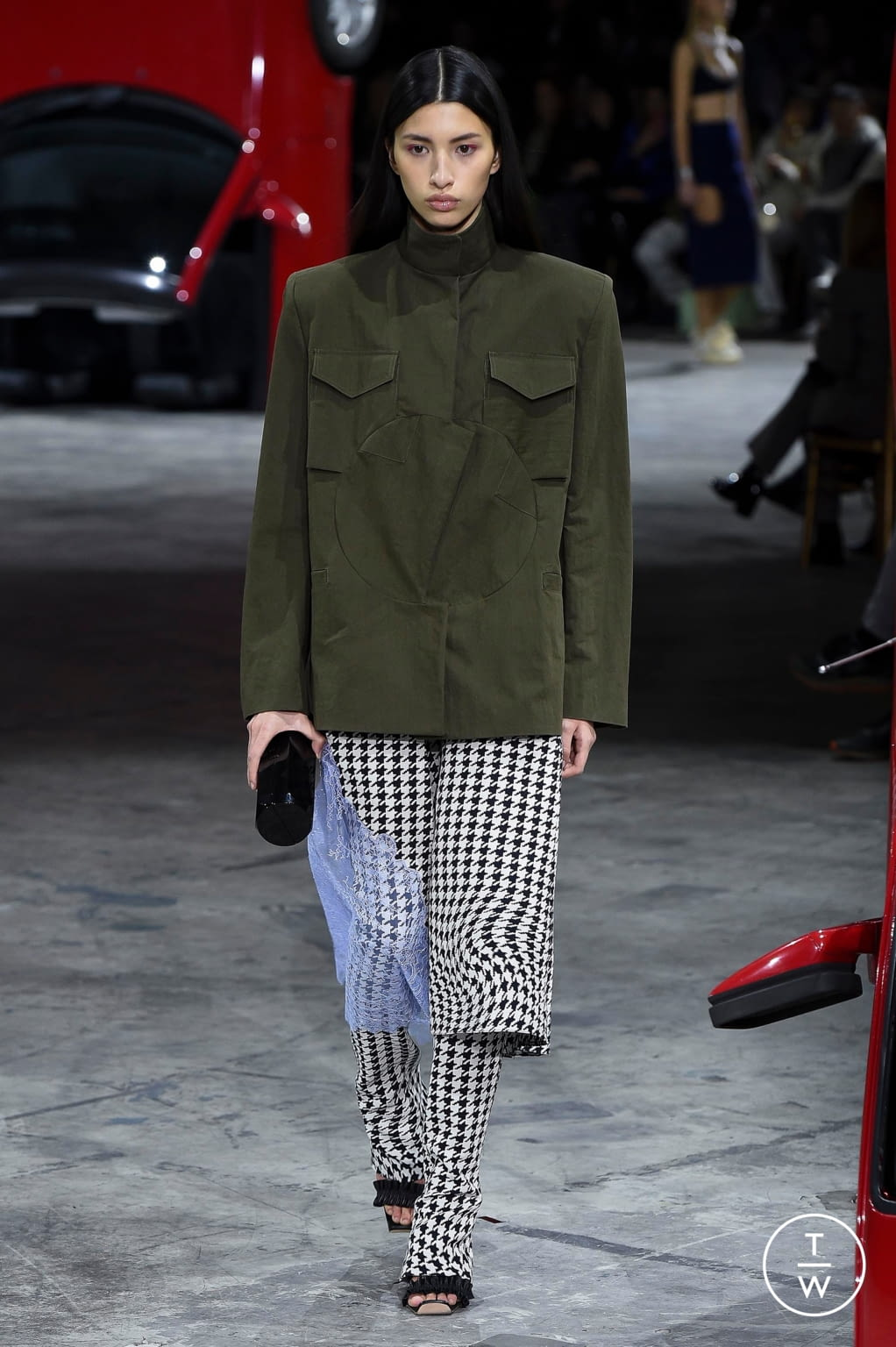Fashion Week Paris Fall/Winter 2020 look 20 from the Off-White collection womenswear