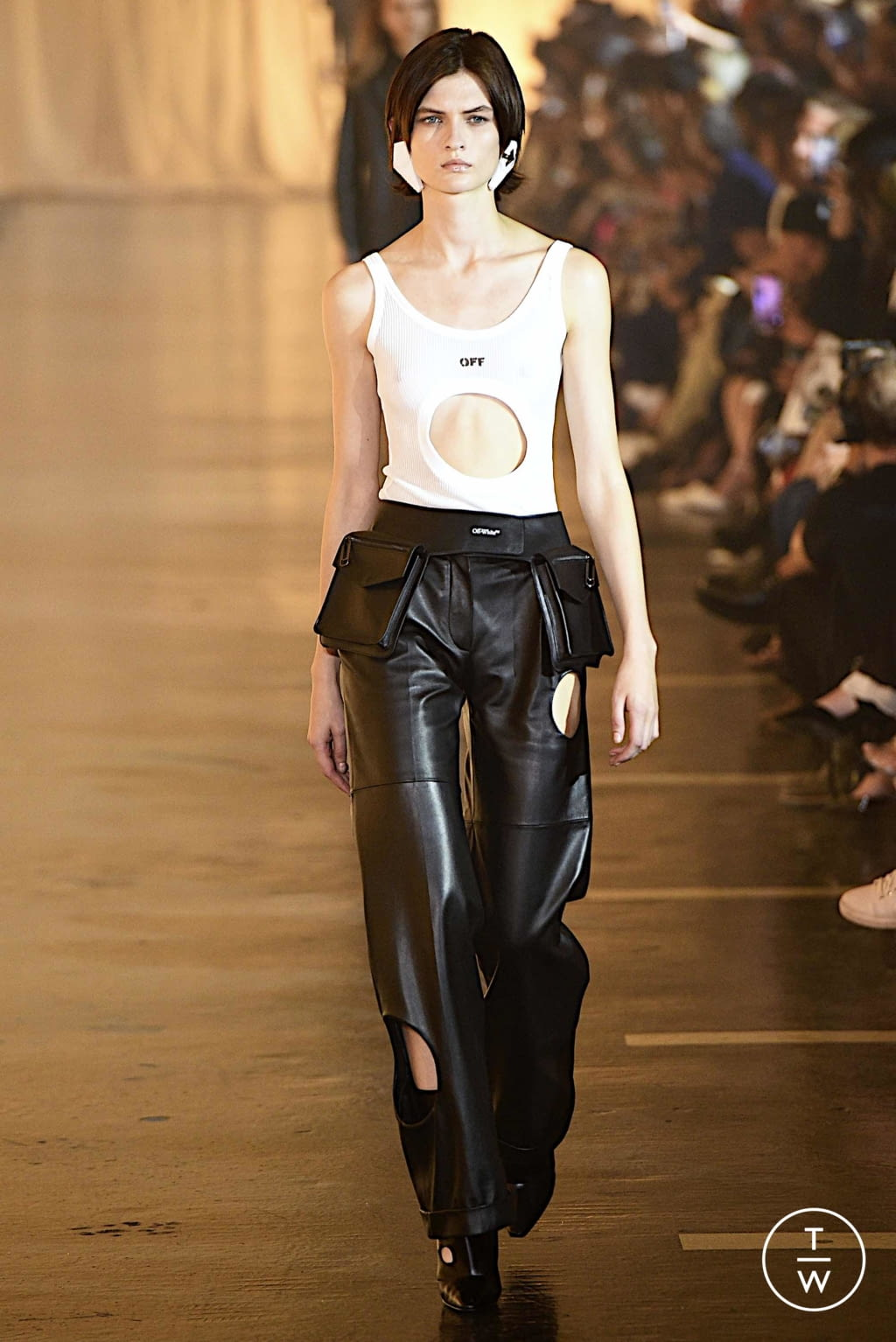 Fashion Week Paris Spring/Summer 2020 look 13 from the Off-White collection womenswear