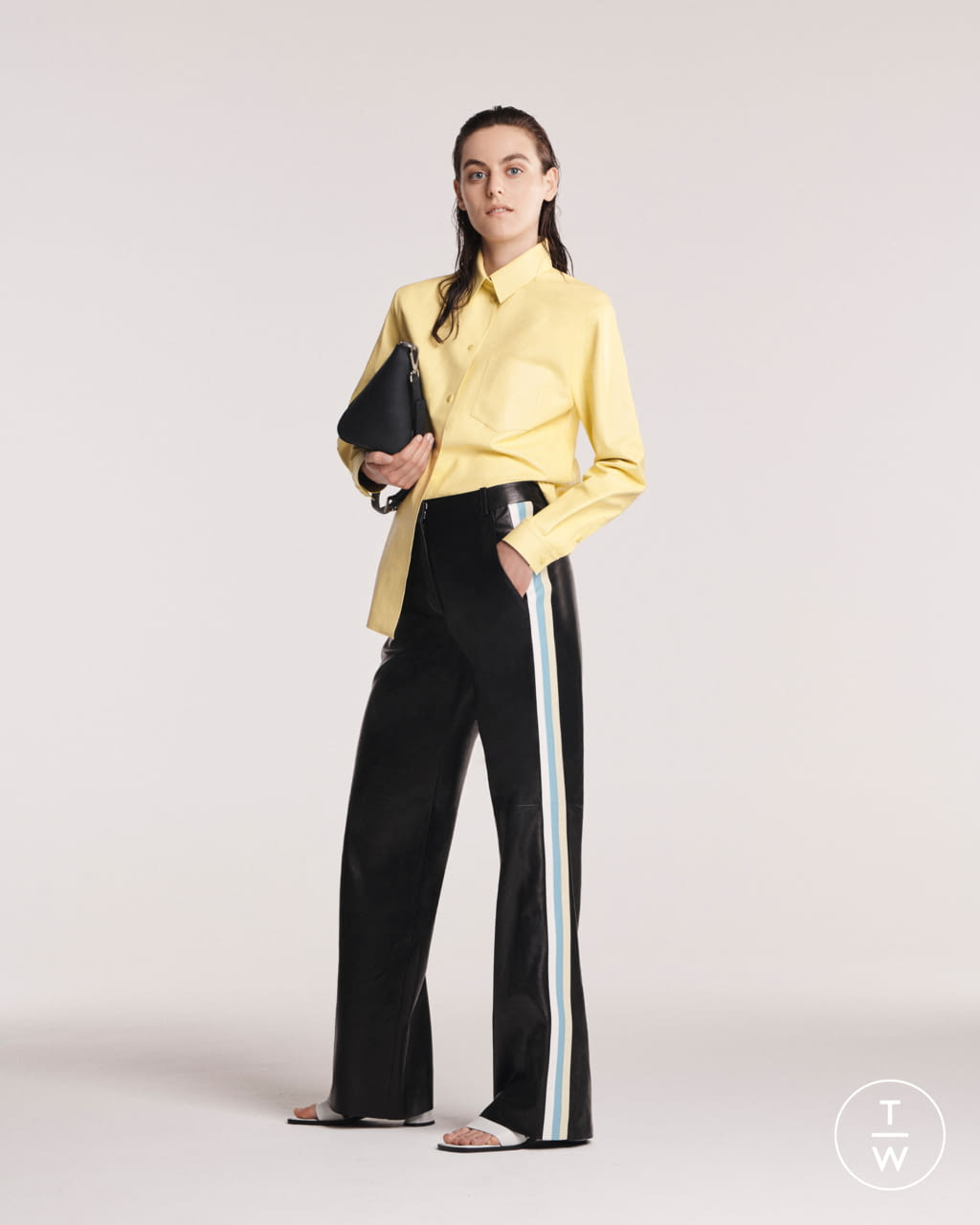 Fashion Week Paris Spring/Summer 2020 look 1 from the Maison Ullens collection womenswear