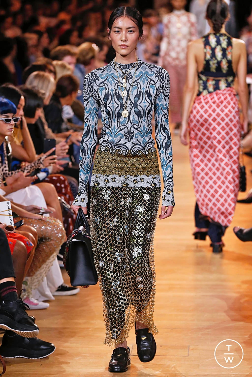 Fashion Week Paris Spring/Summer 2019 look 26 de la collection Paco Rabanne womenswear