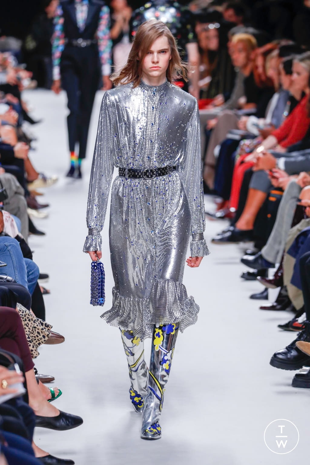 Fashion Week Paris Spring/Summer 2020 look 35 from the Paco Rabanne collection womenswear