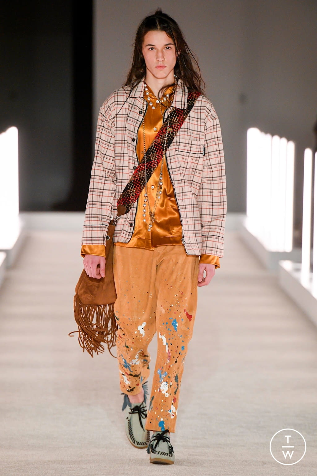 Fashion Week New York Fall/Winter 2020 look 4 from the Palm Angels collection womenswear