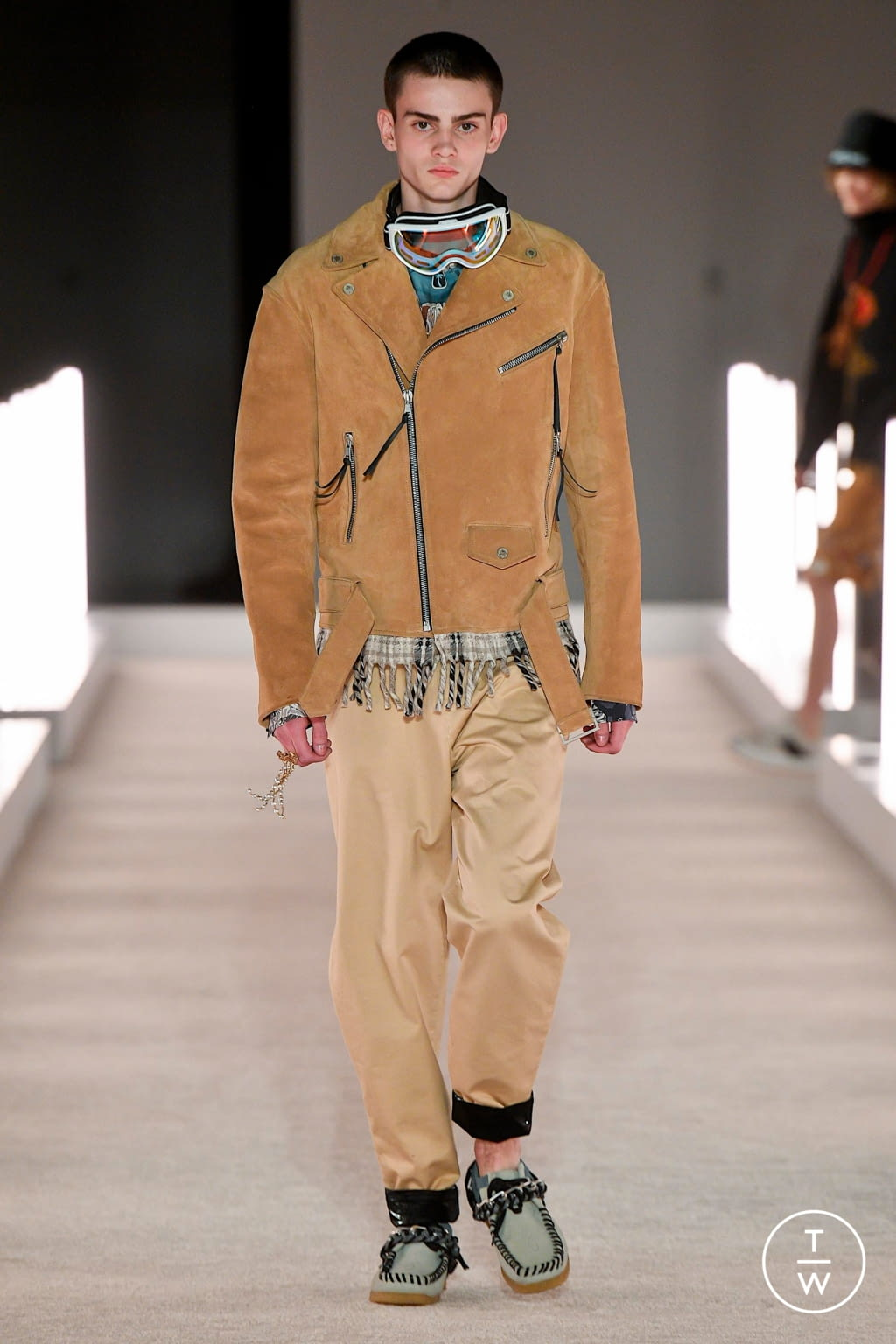 Fashion Week New York Fall/Winter 2020 look 15 from the Palm Angels collection womenswear