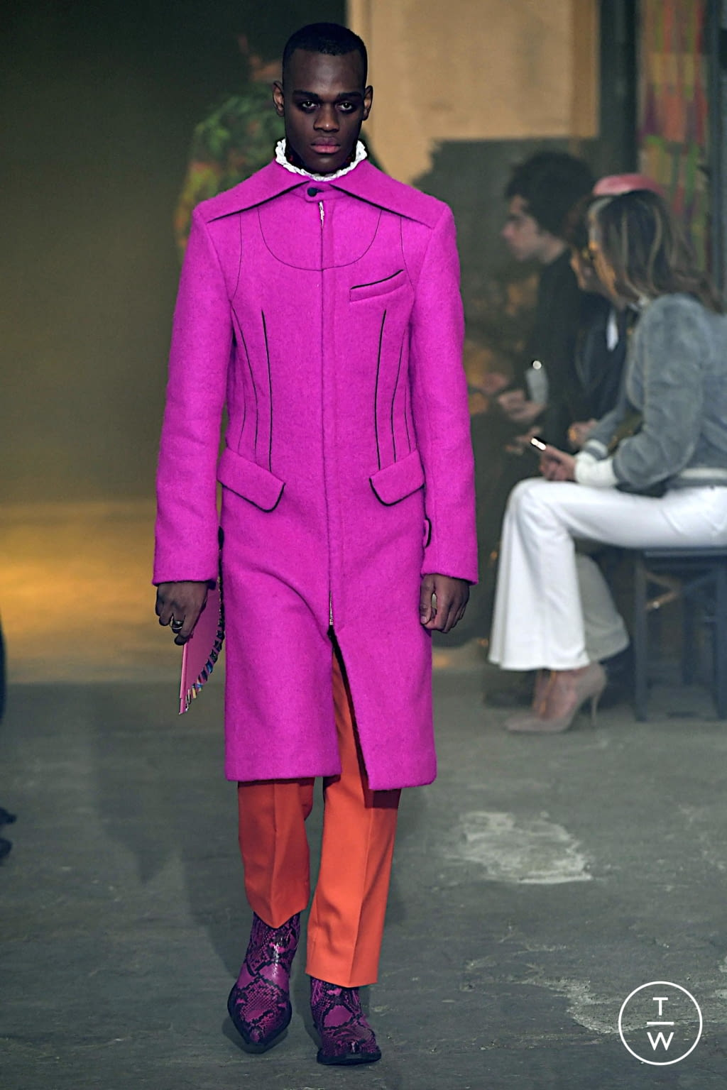 Fashion Week Paris Fall/Winter 2020 look 29 from the Palomo Spain collection menswear