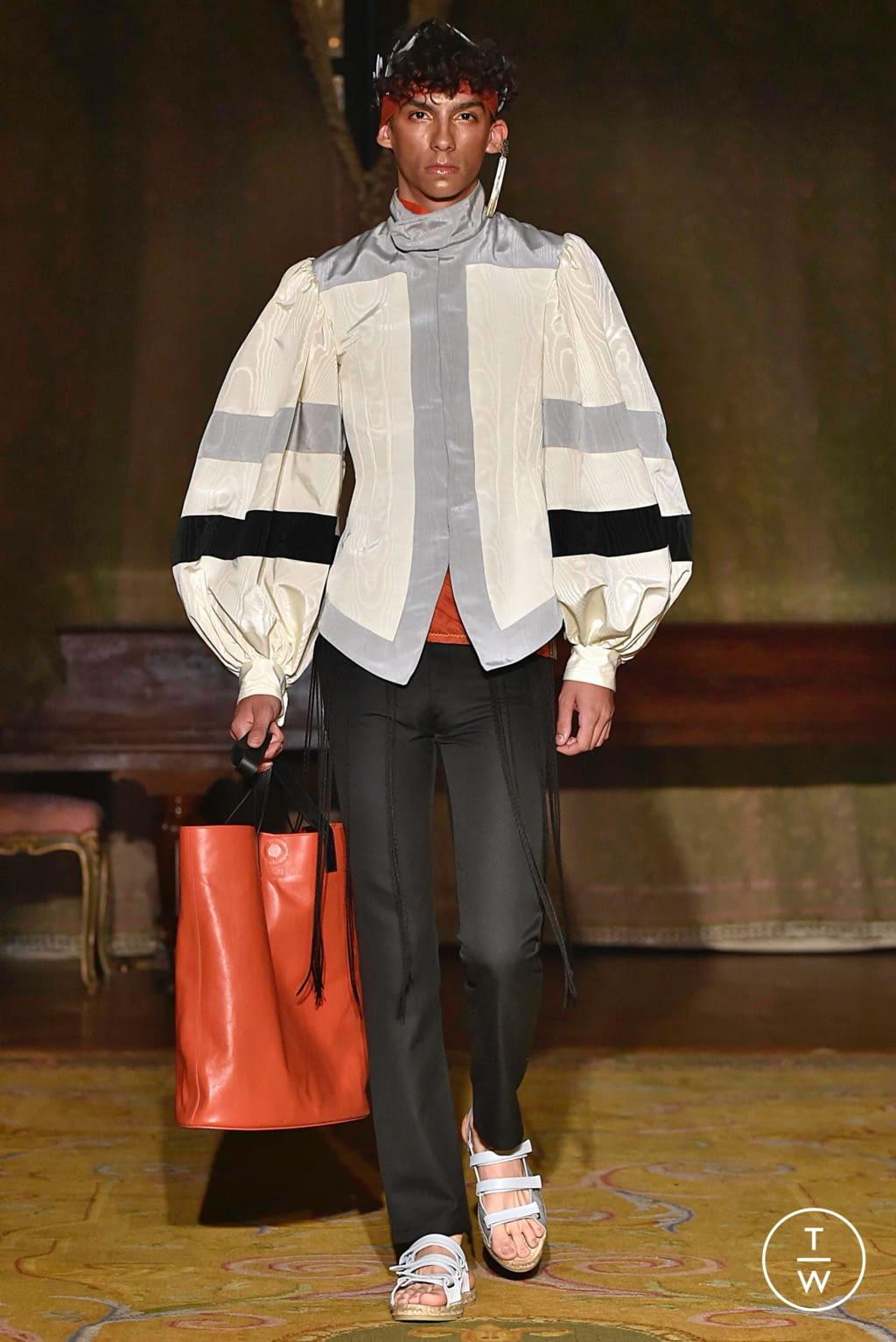 Fashion Week Paris Spring/Summer 2020 look 17 de la collection Palomo Spain menswear