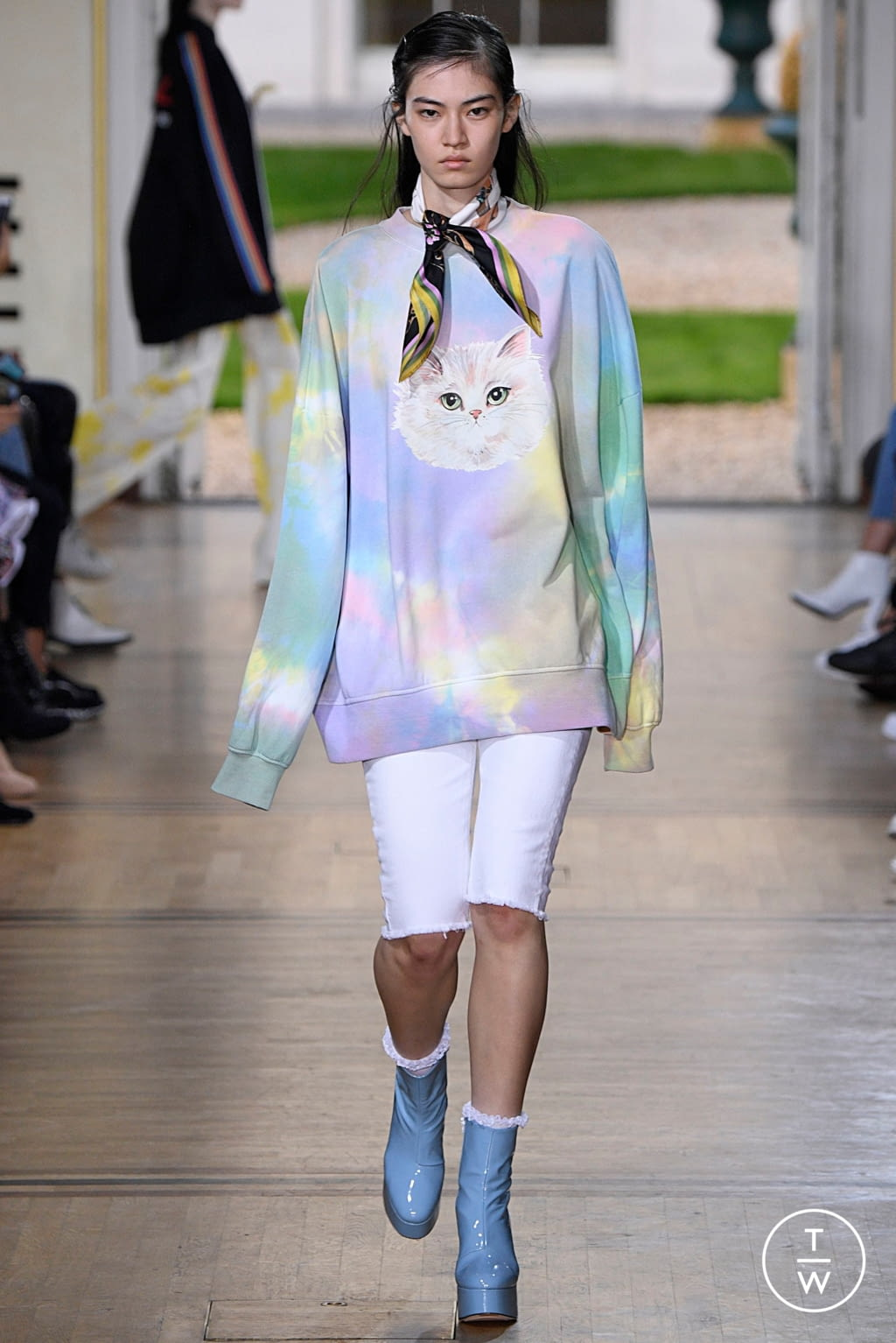 Fashion Week Paris Spring/Summer 2019 look 3 de la collection Paul & Joe womenswear