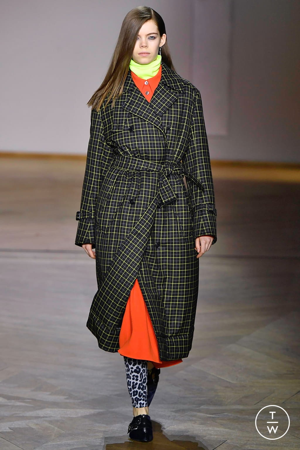 Fashion Week Paris Fall/Winter 2019 look 16 from the Paul Smith collection 男装