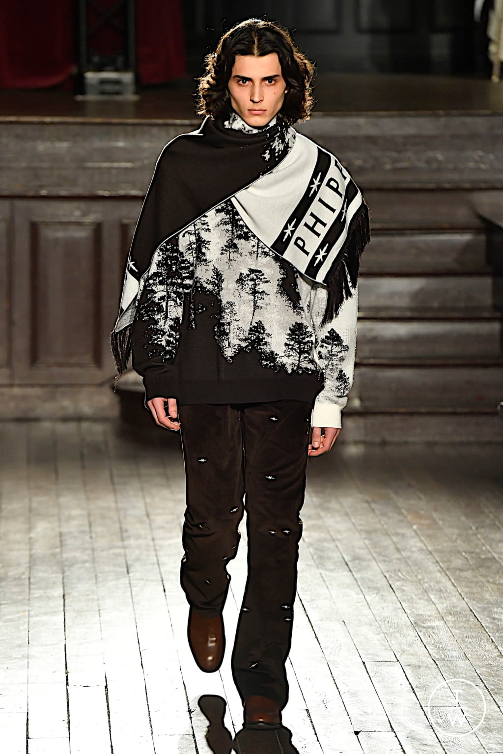 Fashion Week Paris Fall/Winter 2020 look 27 de la collection PHIPPS menswear