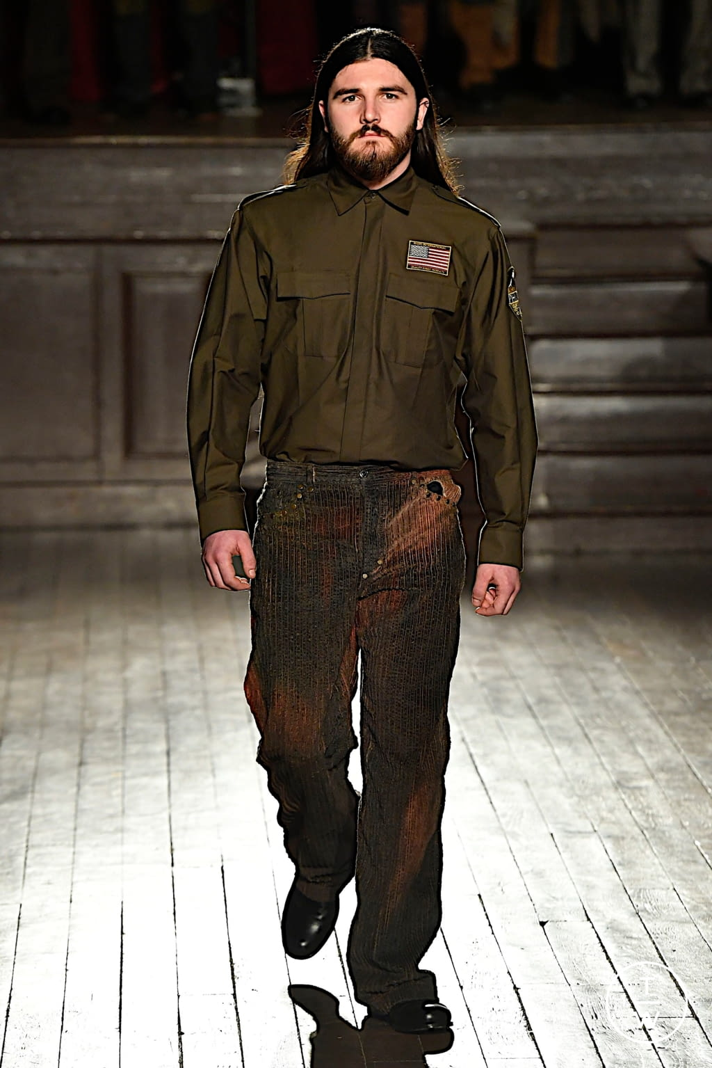 Fashion Week Paris Fall/Winter 2020 look 5 from the PHIPPS collection menswear