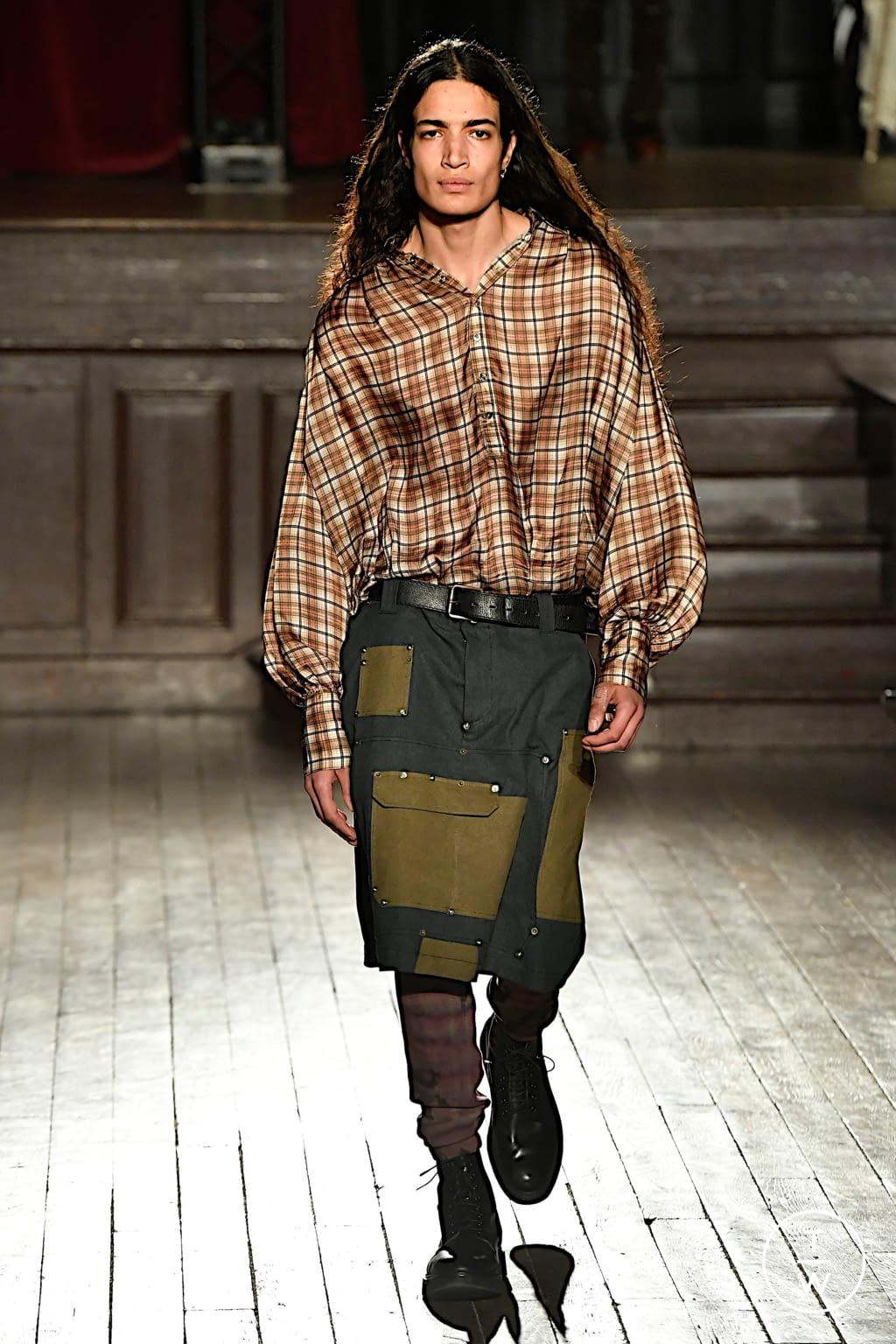 Fashion Week Paris Fall/Winter 2020 look 25 de la collection PHIPPS menswear