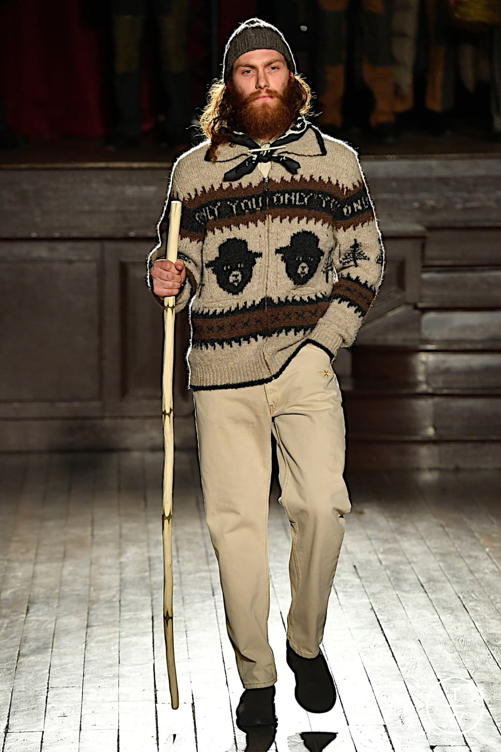 Fashion Week Paris Fall/Winter 2020 look 8 from the PHIPPS collection menswear