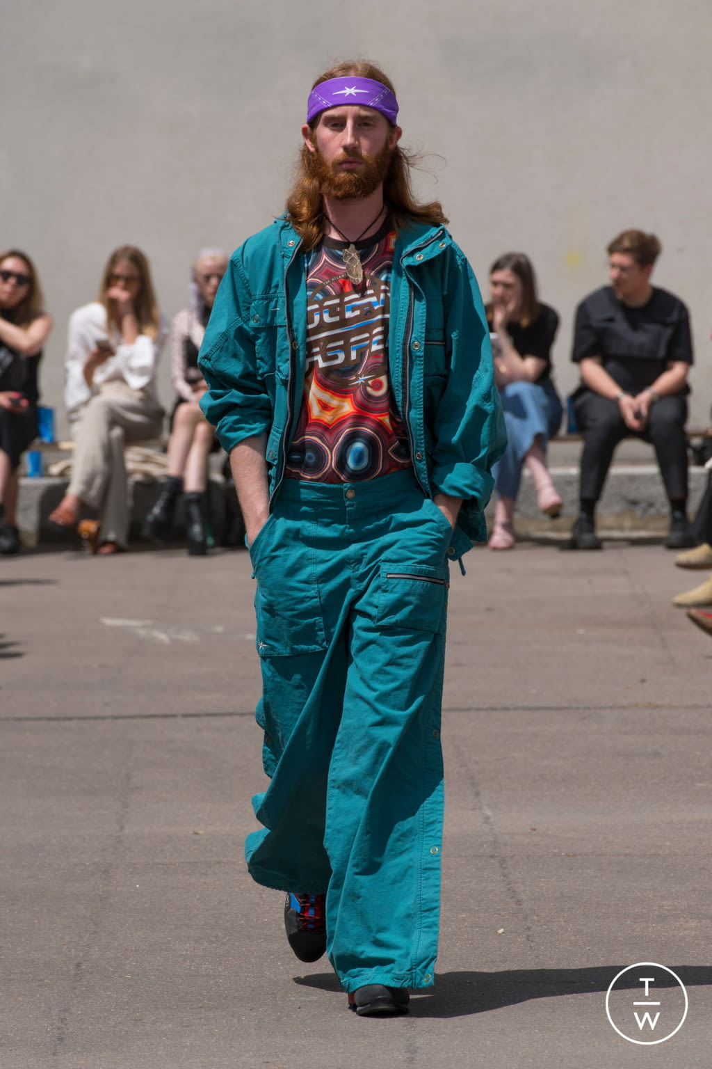 Fashion Week Paris Spring/Summer 2020 look 11 from the PHIPPS collection 男装