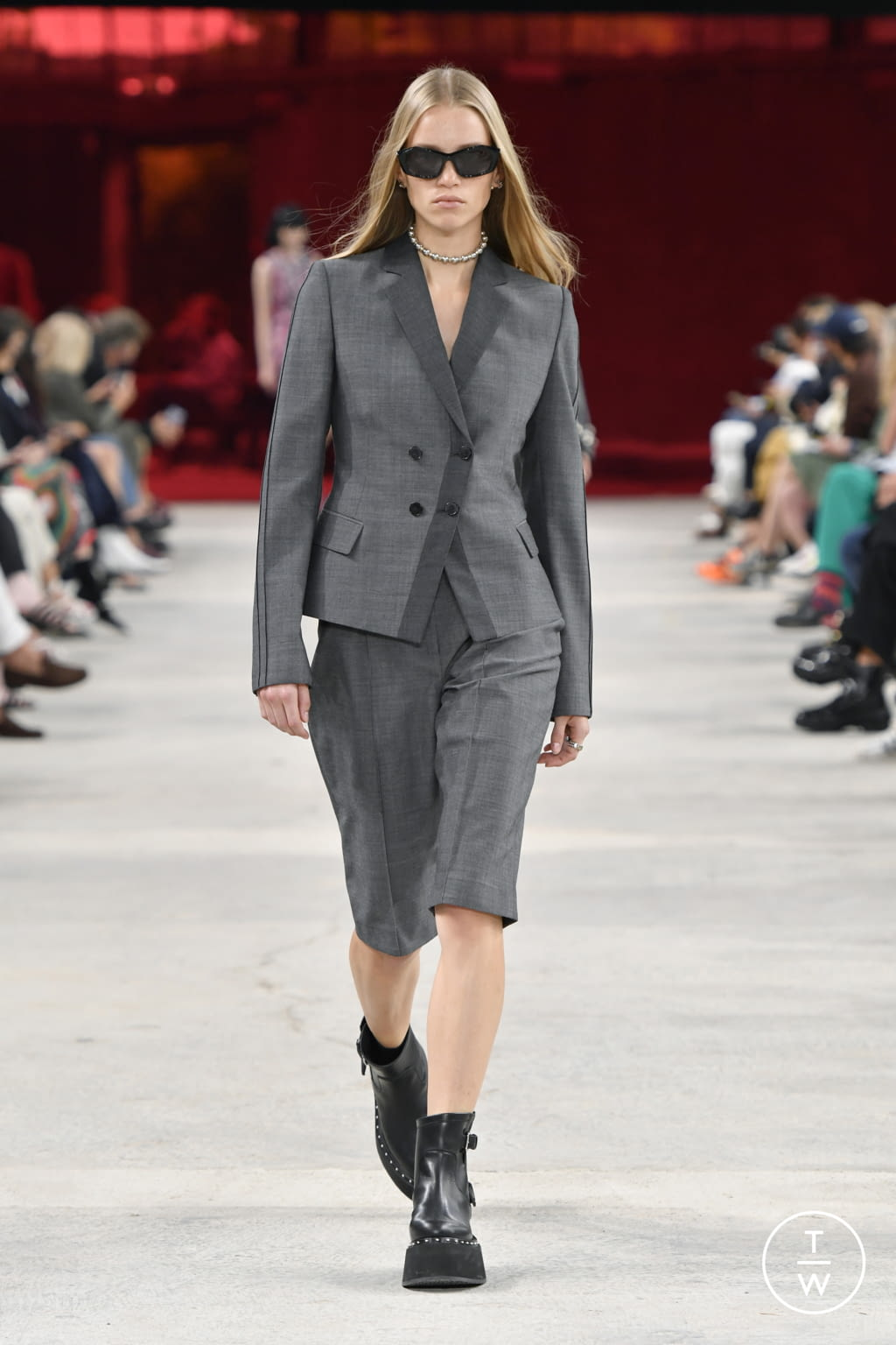Fashion Week Milan Spring/Summer 2022 look 13 from the Ports 1961 collection womenswear