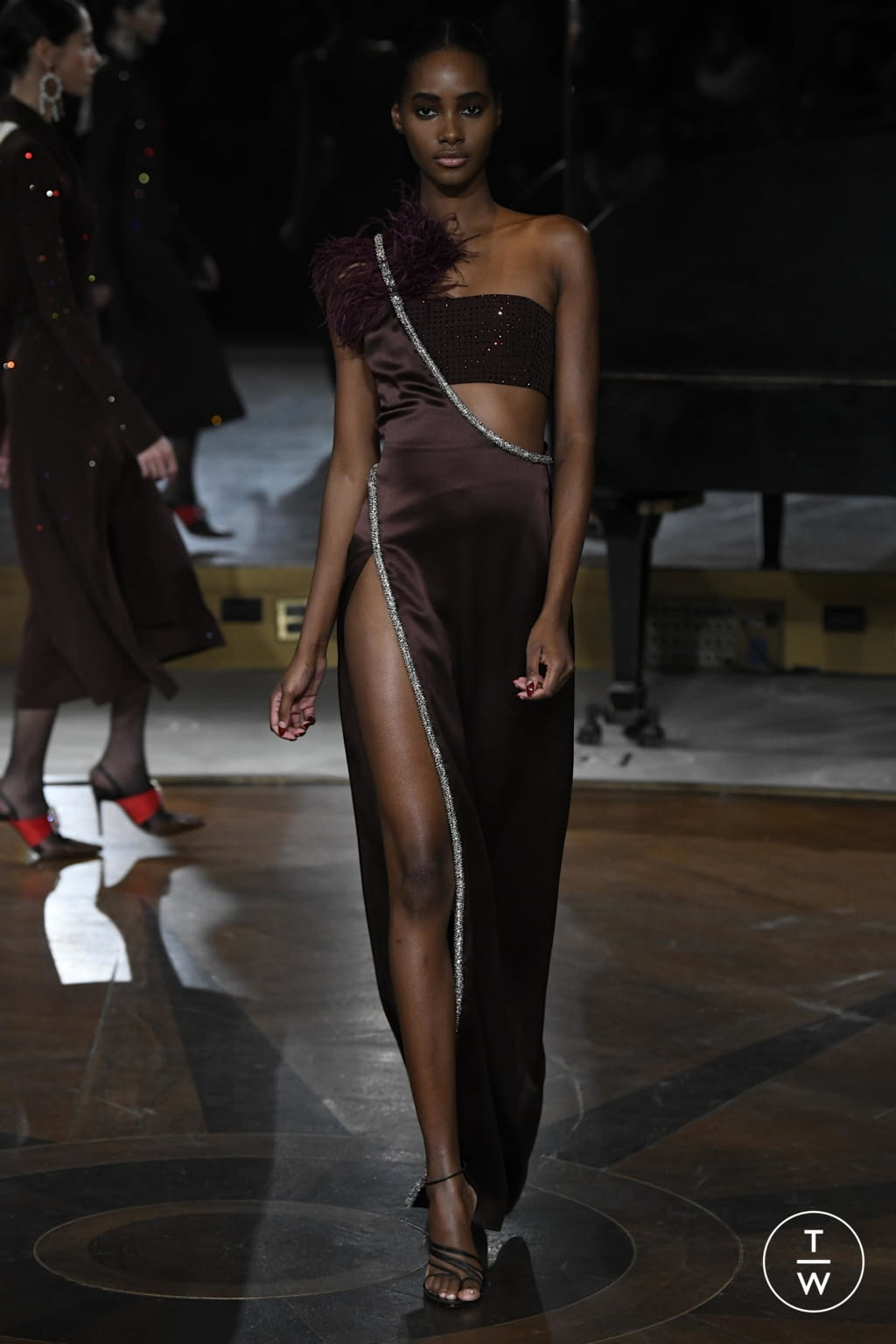 Fashion Week New York Fall/Winter 2020 look 34 from the Prabal Gurung collection womenswear