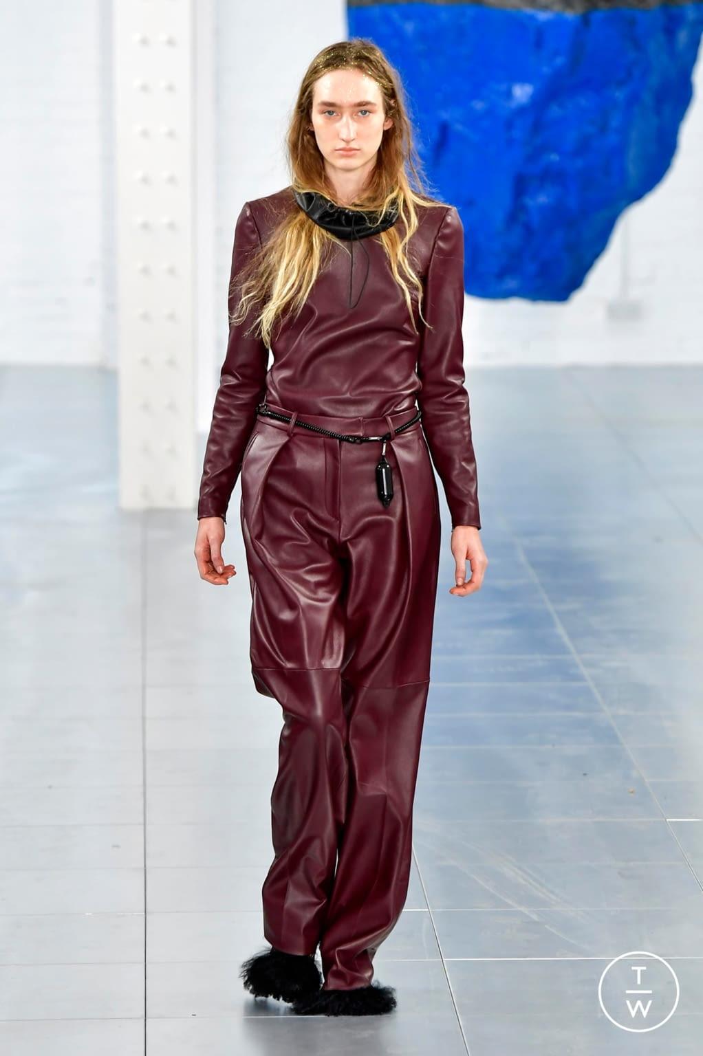 Fashion Week London Fall/Winter 2018 look 16 from the Preen by Thornton Bregazzi collection womenswear