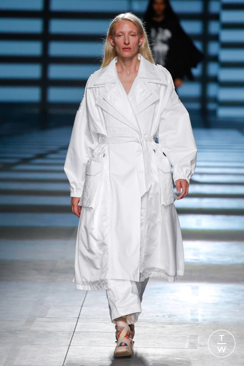 Fashion Week London Spring/Summer 2020 look 4 from the Preen by Thornton Bregazzi collection womenswear
