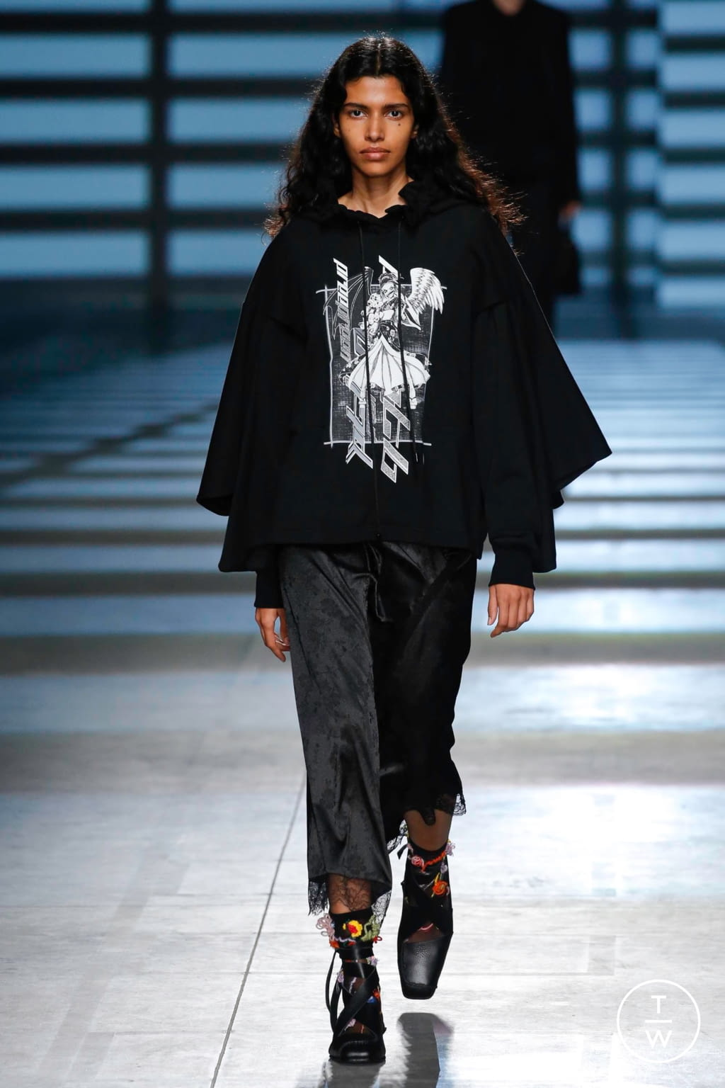 Fashion Week London Spring/Summer 2020 look 3 from the Preen by Thornton Bregazzi collection womenswear