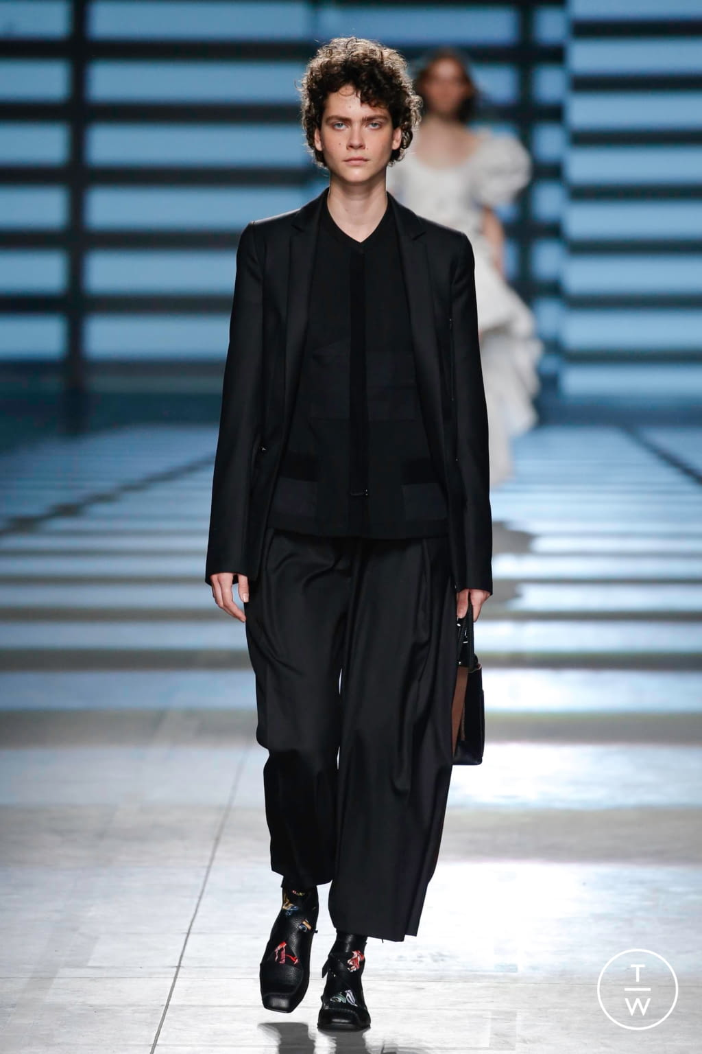 Fashion Week London Spring/Summer 2020 look 5 from the Preen by Thornton Bregazzi collection womenswear