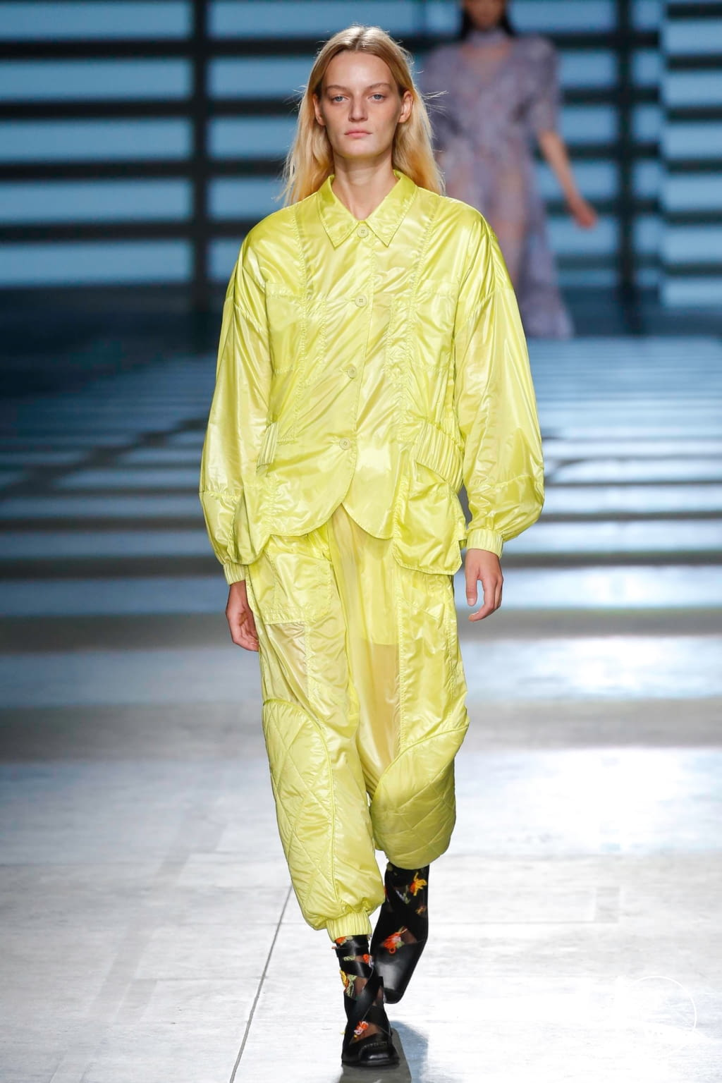Fashion Week London Spring/Summer 2020 look 9 from the Preen by Thornton Bregazzi collection womenswear