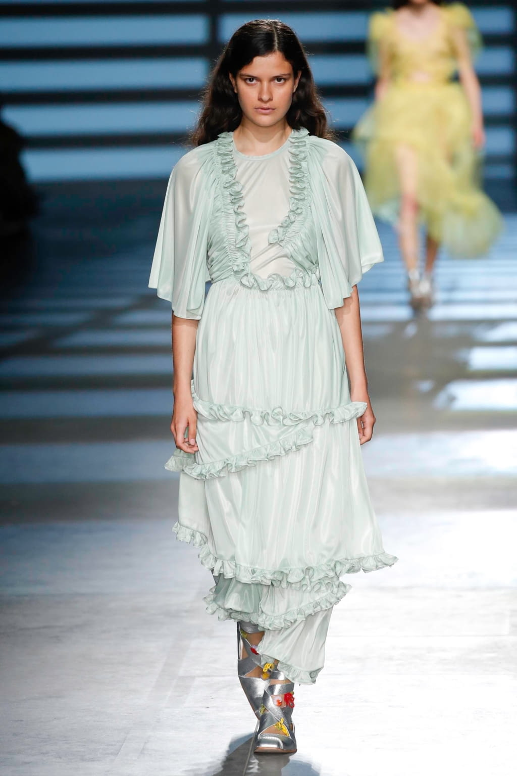Fashion Week London Spring/Summer 2020 look 12 from the Preen by Thornton Bregazzi collection womenswear