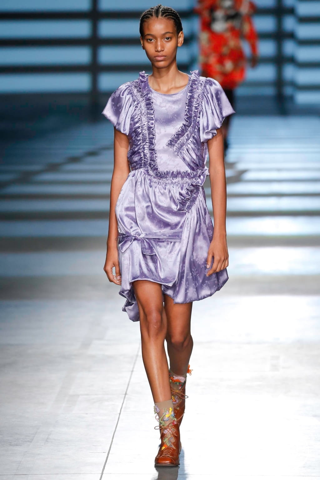 Fashion Week London Spring/Summer 2020 look 14 from the Preen by Thornton Bregazzi collection womenswear