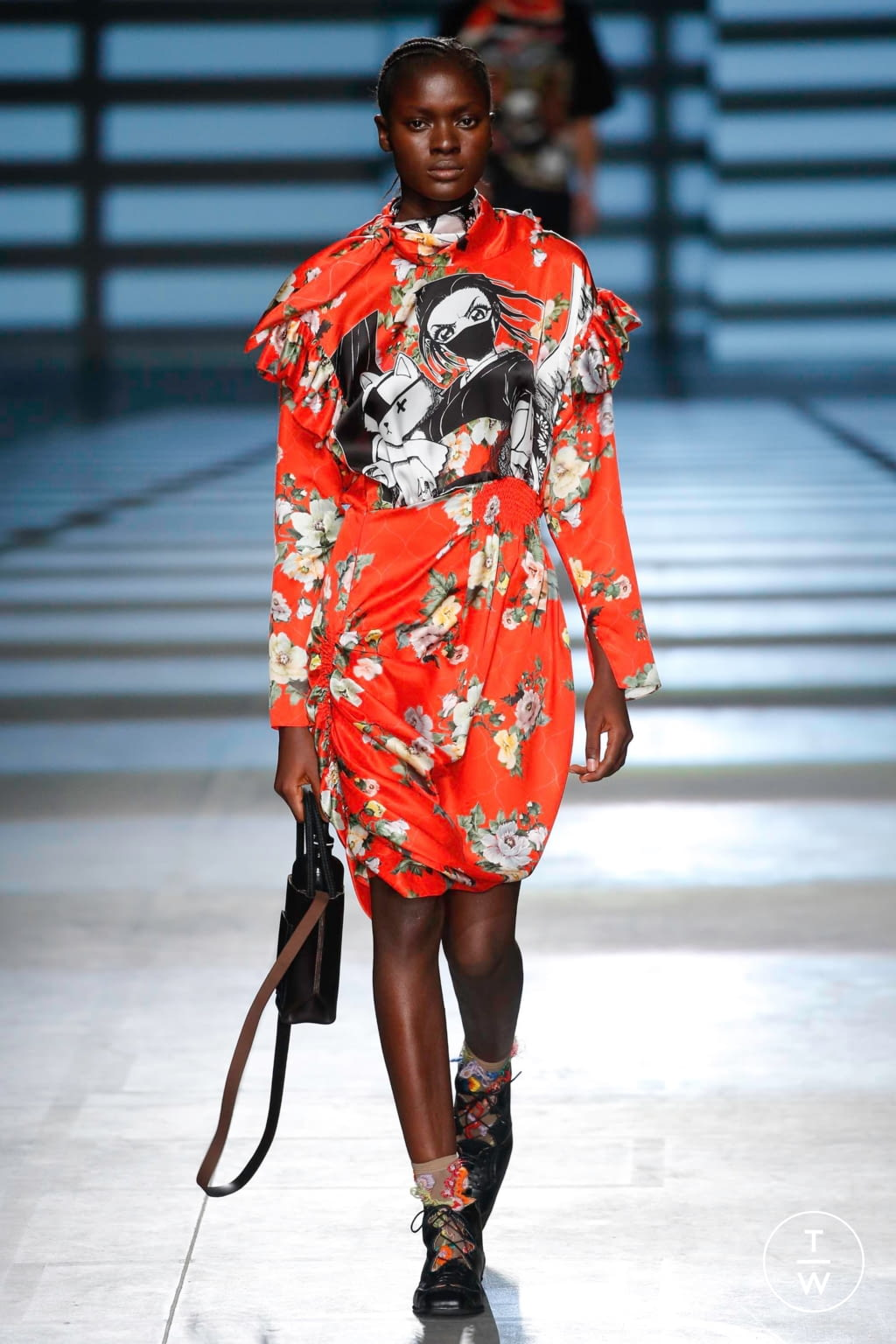 Fashion Week London Spring/Summer 2020 look 15 from the Preen by Thornton Bregazzi collection womenswear