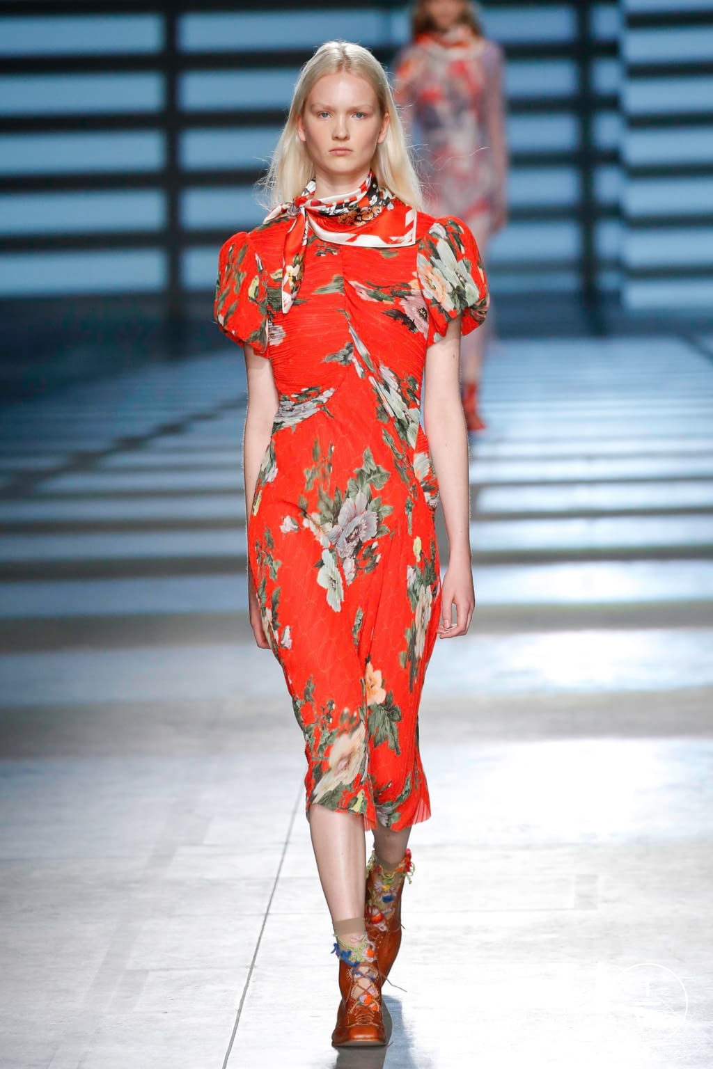 Fashion Week London Spring/Summer 2020 look 16 from the Preen by Thornton Bregazzi collection womenswear