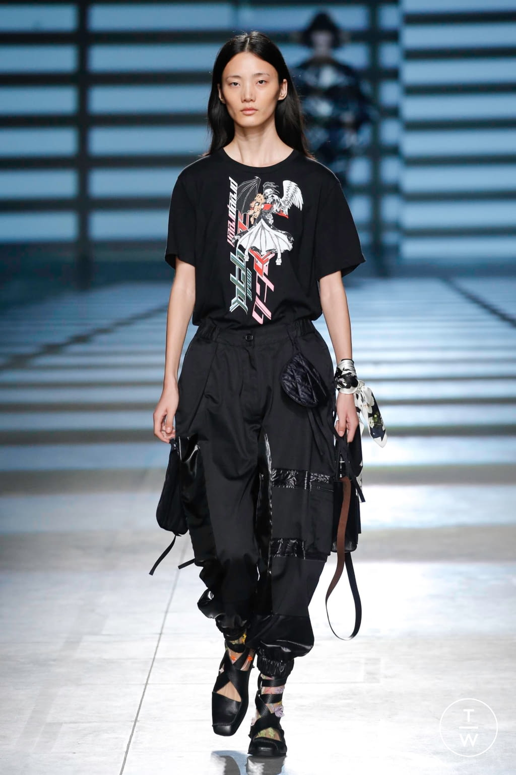 Fashion Week London Spring/Summer 2020 look 25 from the Preen by Thornton Bregazzi collection womenswear