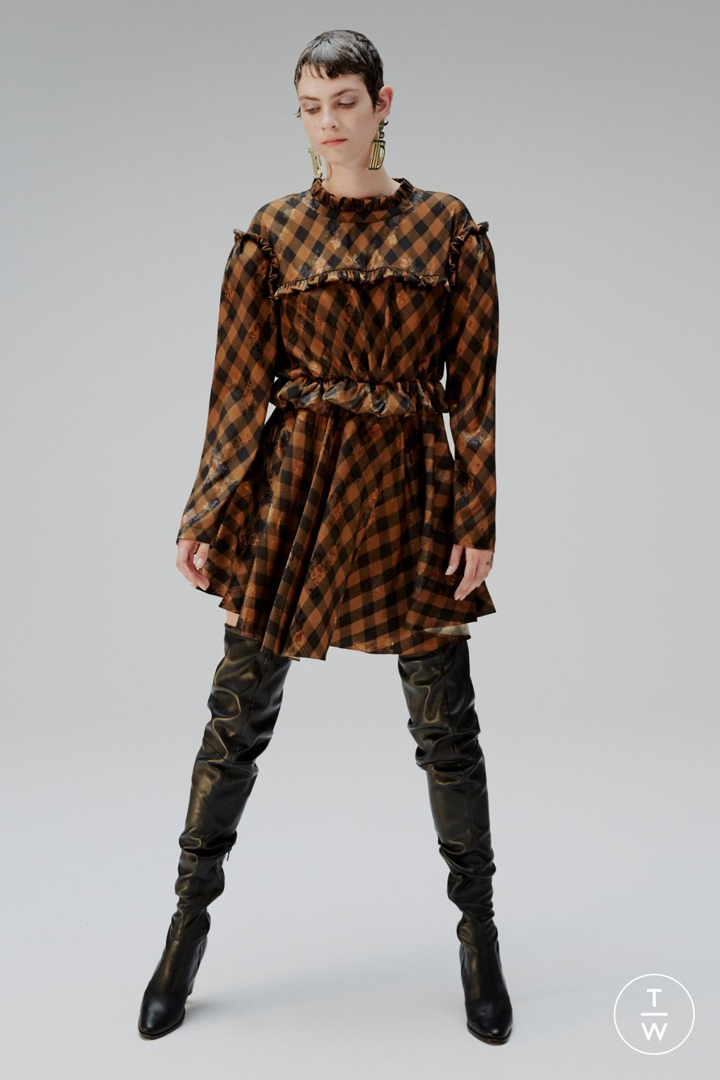 Fashion Week London Resort 2020 look 13 from the Preen by Thornton Bregazzi collection womenswear
