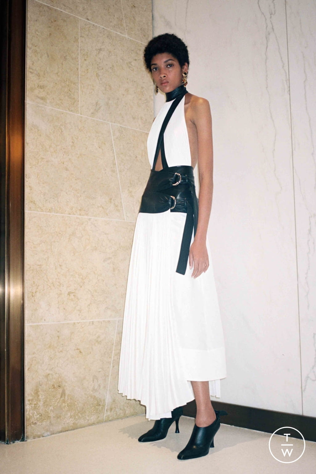 Fashion Week New York Resort 2020 look 21 de la collection Proenza Schouler womenswear