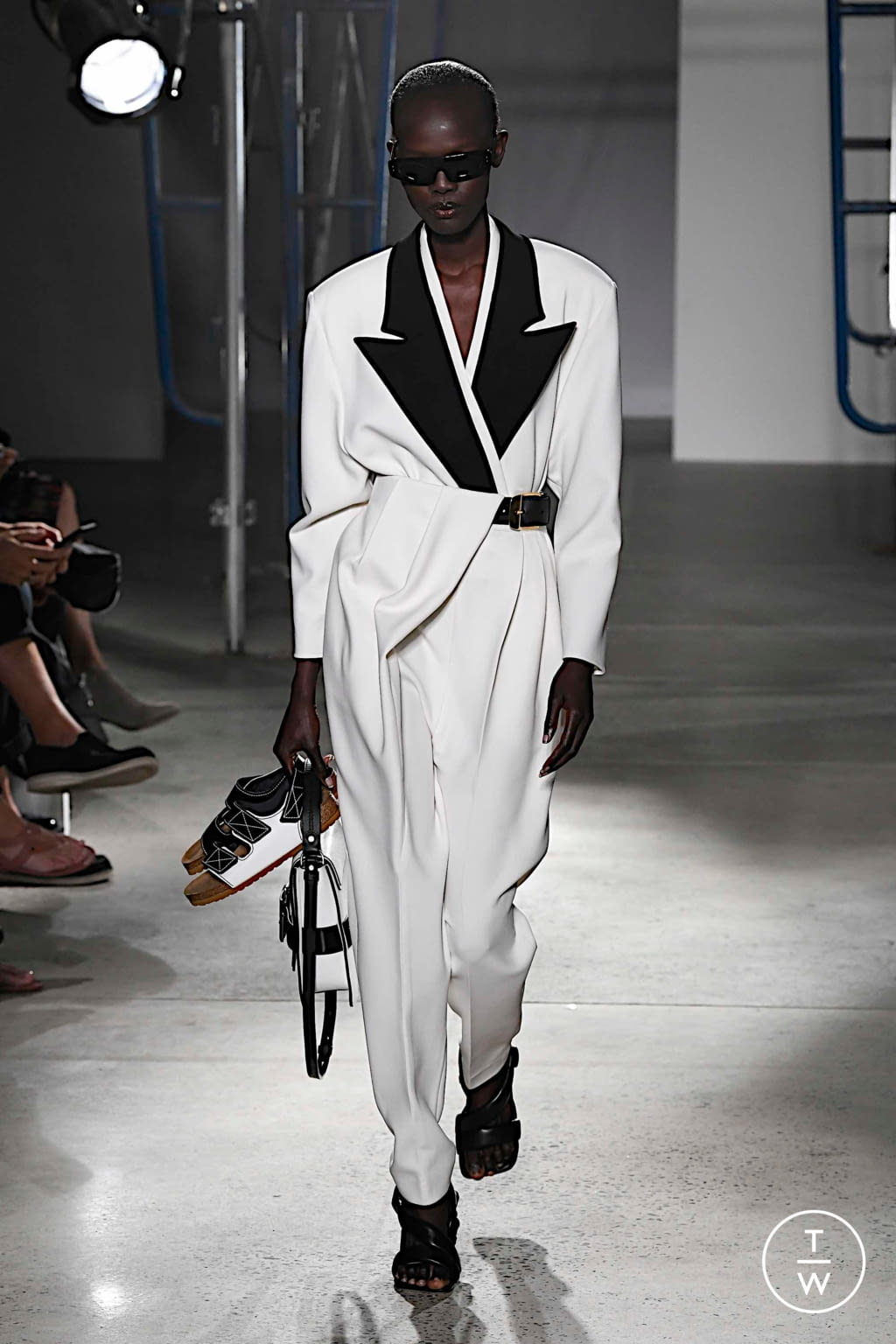 Fashion Week New York Spring/Summer 2020 look 26 from the Proenza Schouler collection womenswear