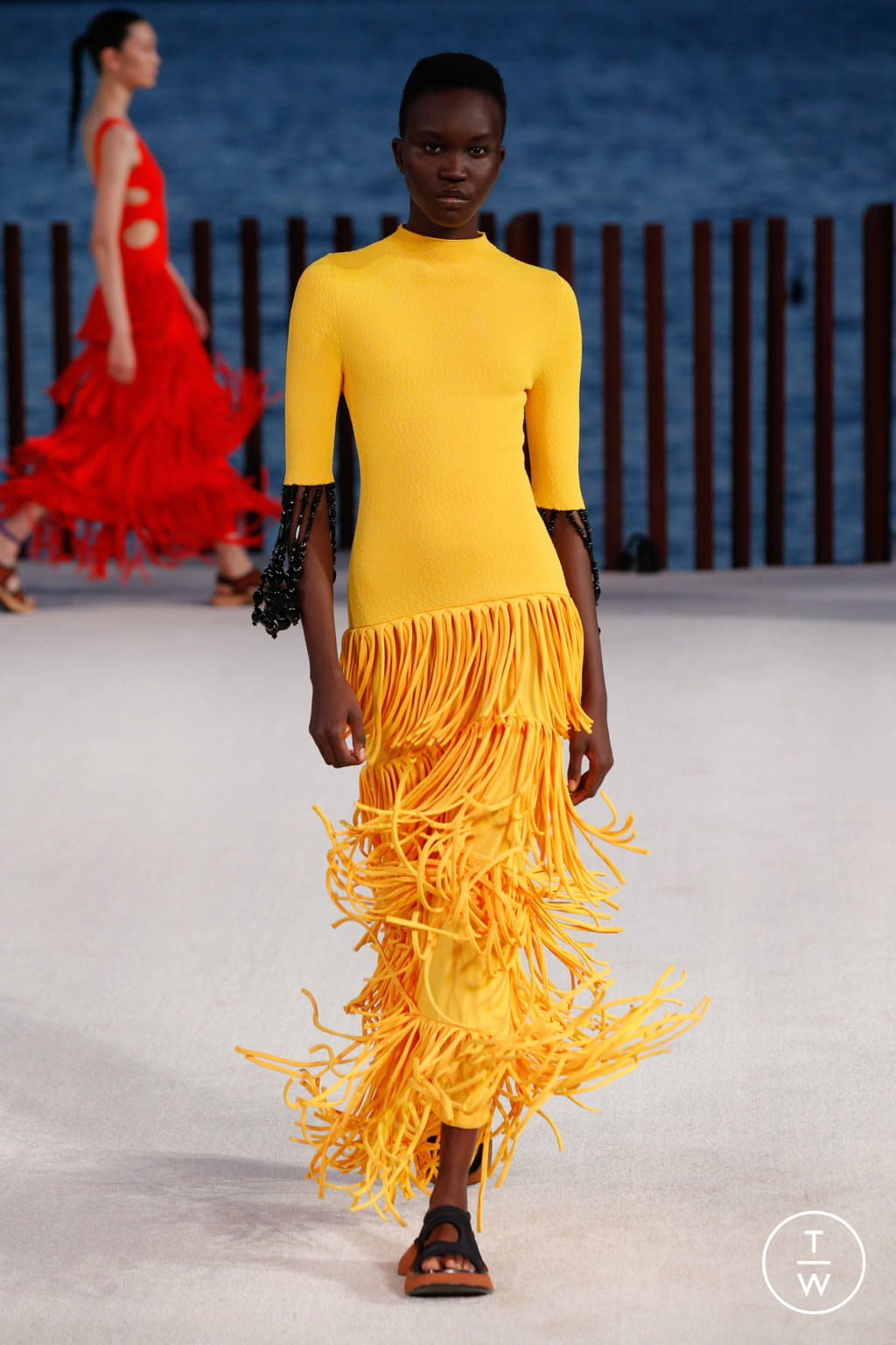 Fashion Week New York Spring/Summer 2022 look 11 from the Proenza Schouler collection womenswear