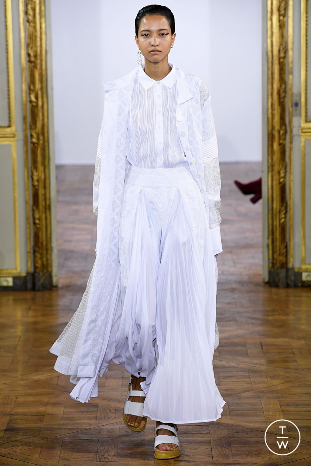 Fashion Week Paris Spring/Summer 2019 look 1 from the Rahul Mishra collection womenswear