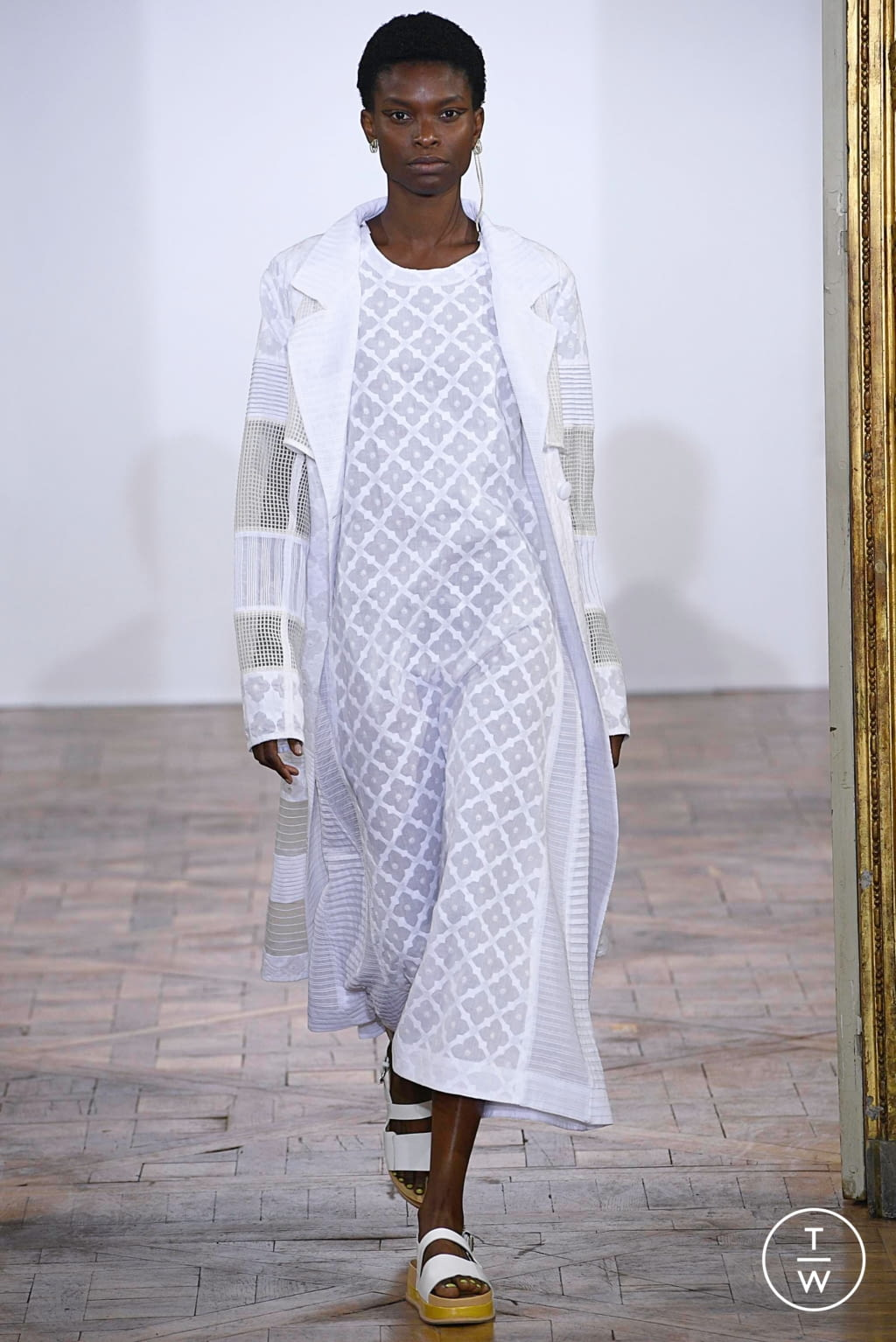 Fashion Week Paris Spring/Summer 2019 look 8 from the Rahul Mishra collection womenswear