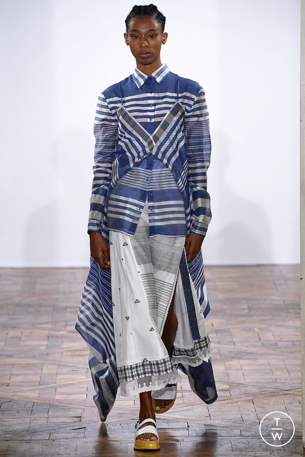 Fashion Week Paris Spring/Summer 2019 look 17 de la collection Rahul Mishra womenswear