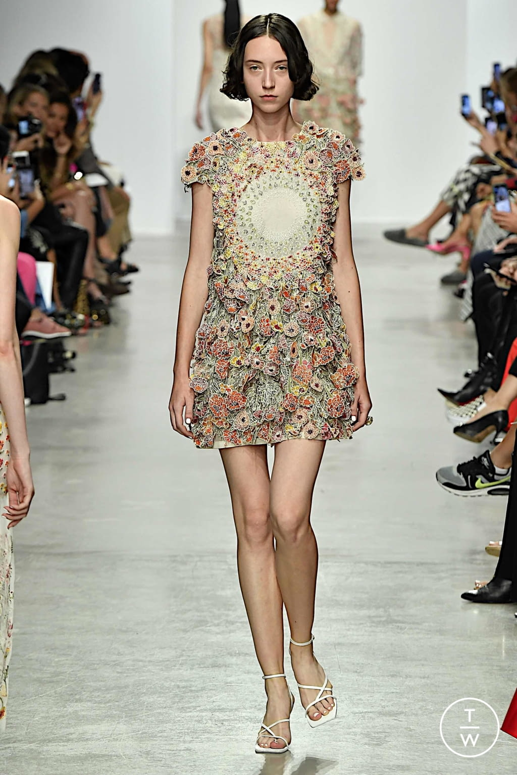 Fashion Week Paris Spring/Summer 2020 look 13 from the Rahul Mishra collection womenswear
