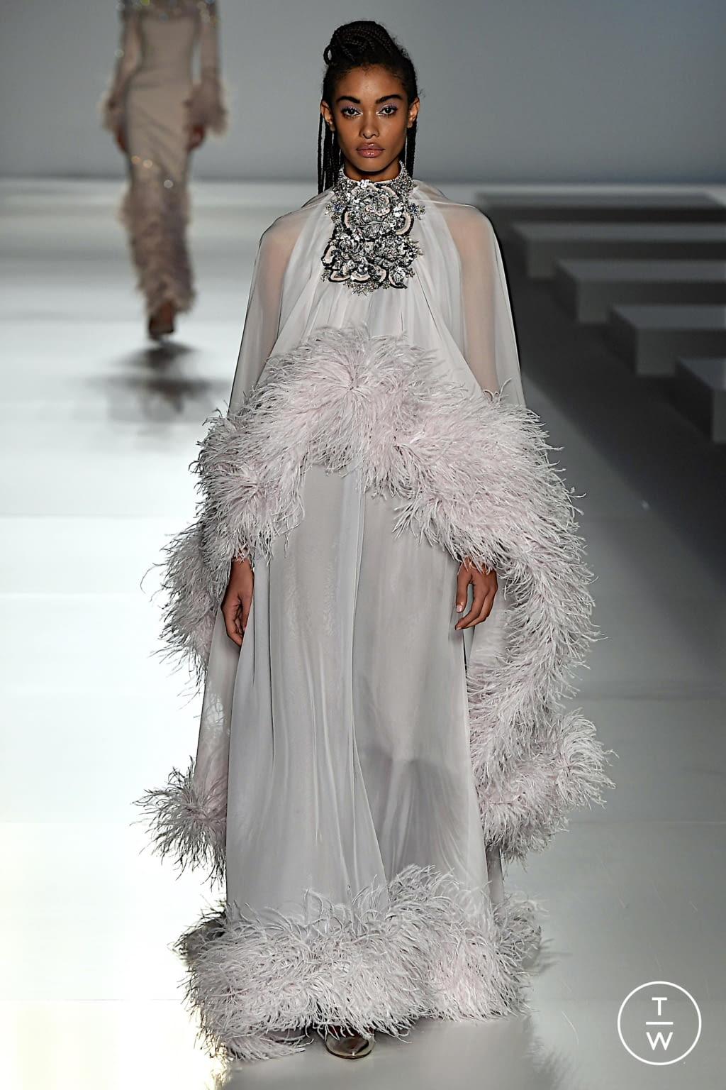 Fashion Week Paris Spring/Summer 2020 look 20 from the Ralph & Russo collection couture