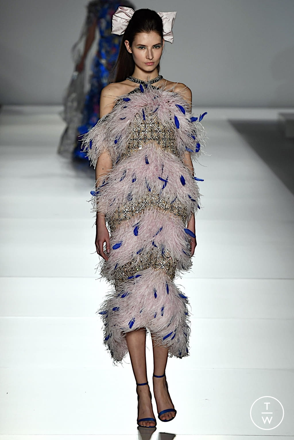 Fashion Week Paris Spring/Summer 2020 look 22 from the Ralph & Russo collection couture