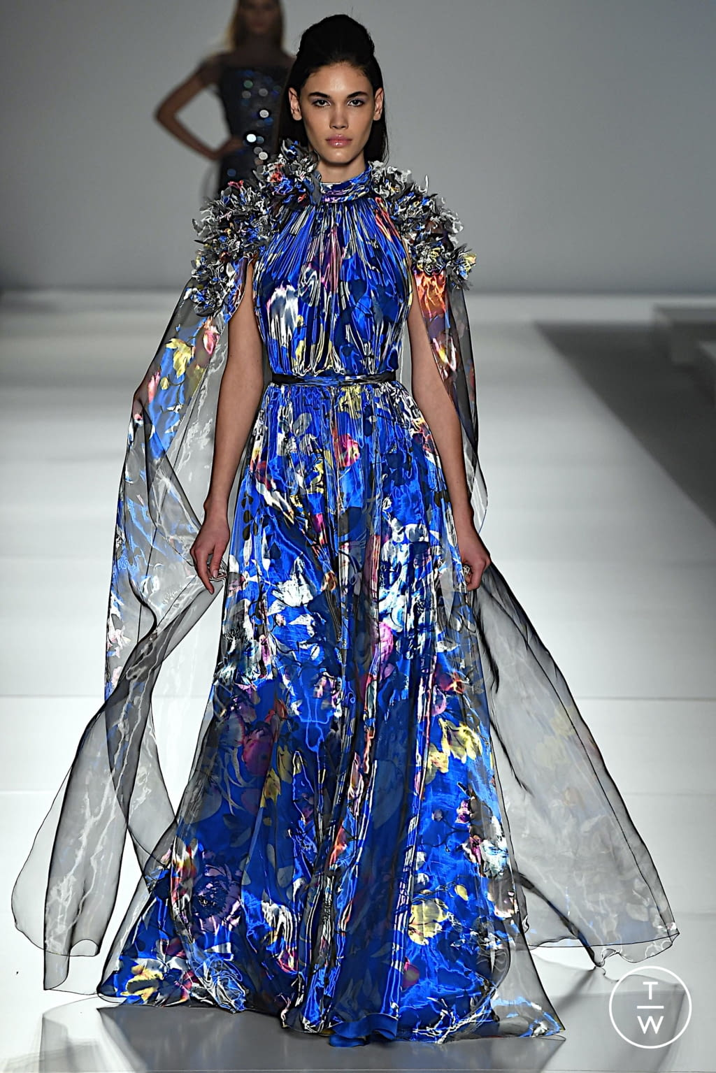 Fashion Week Paris Spring/Summer 2020 look 23 from the Ralph & Russo collection 高级定制