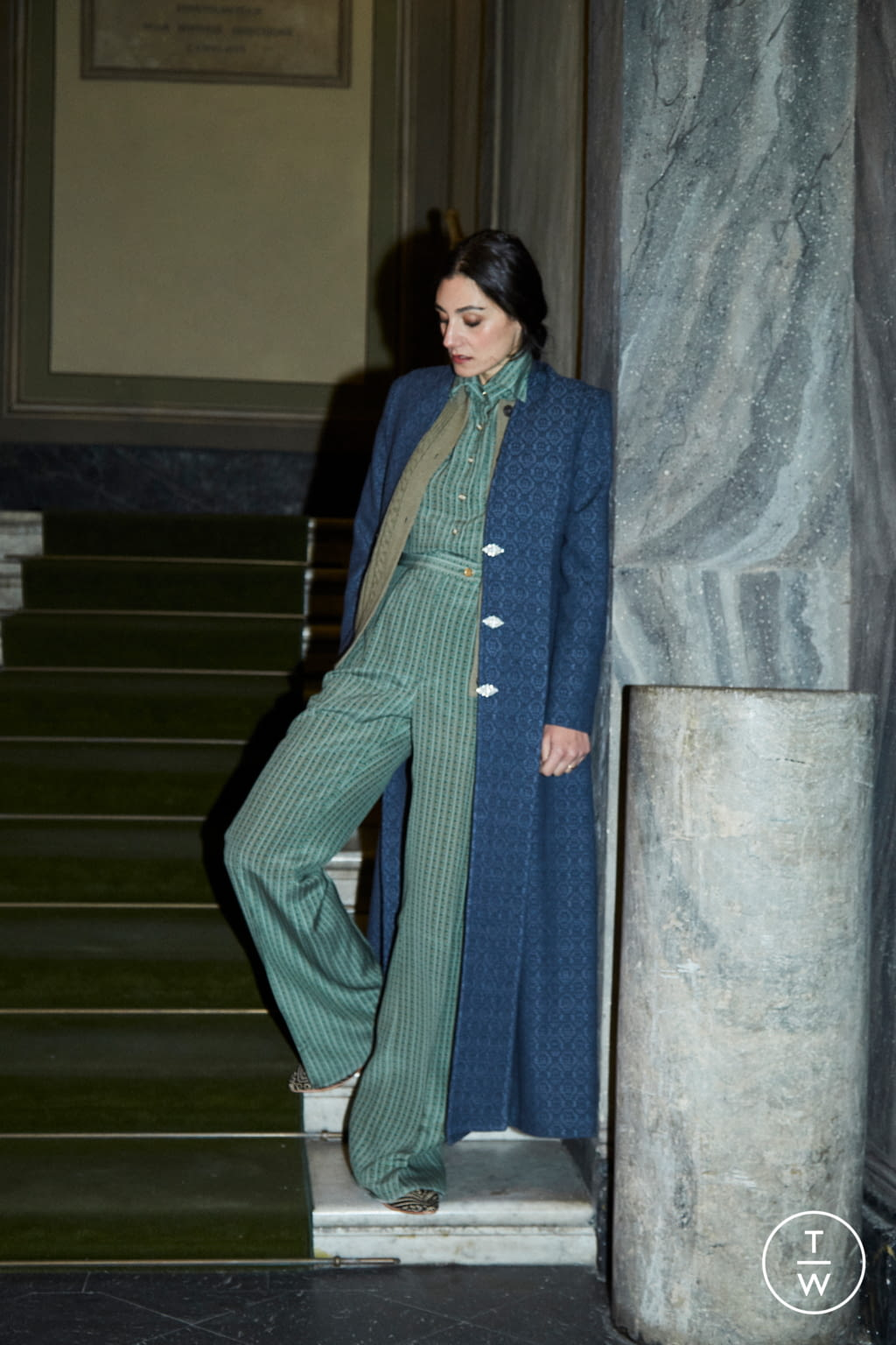Fashion Week Milan Fall/Winter 2020 look 49 from the Giuliva Heritage Collection collection womenswear