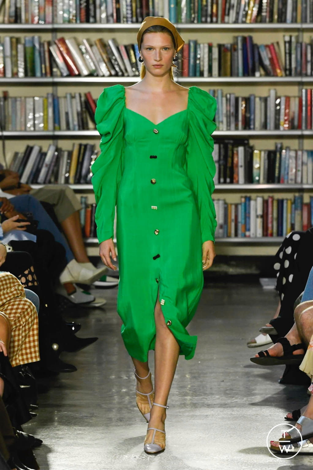 Fashion Week London Spring/Summer 2020 look 25 from the Rejina Pyo collection womenswear