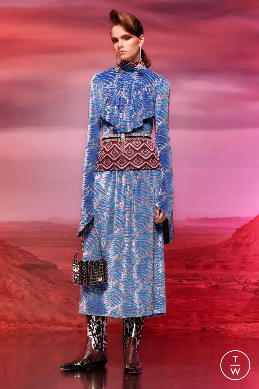 Fashion Week Paris Resort 2020 look 13 de la collection Paco Rabanne womenswear