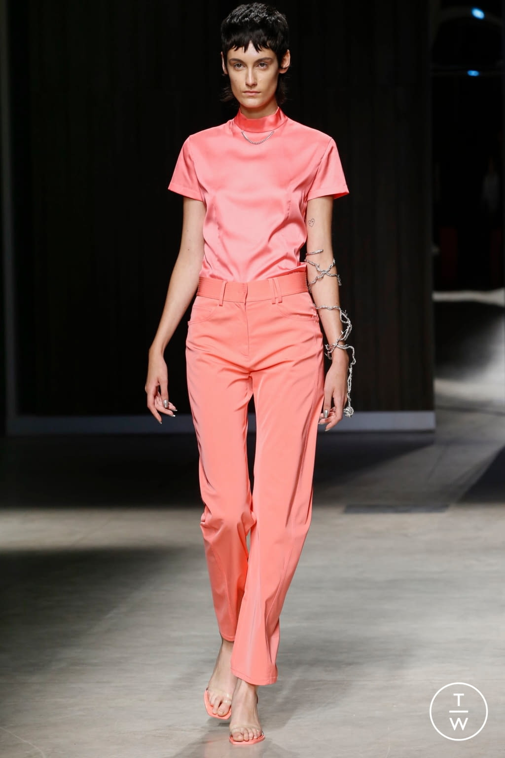 Fashion Week Milan Spring/Summer 2019 look 7 from the Ricostru collection womenswear