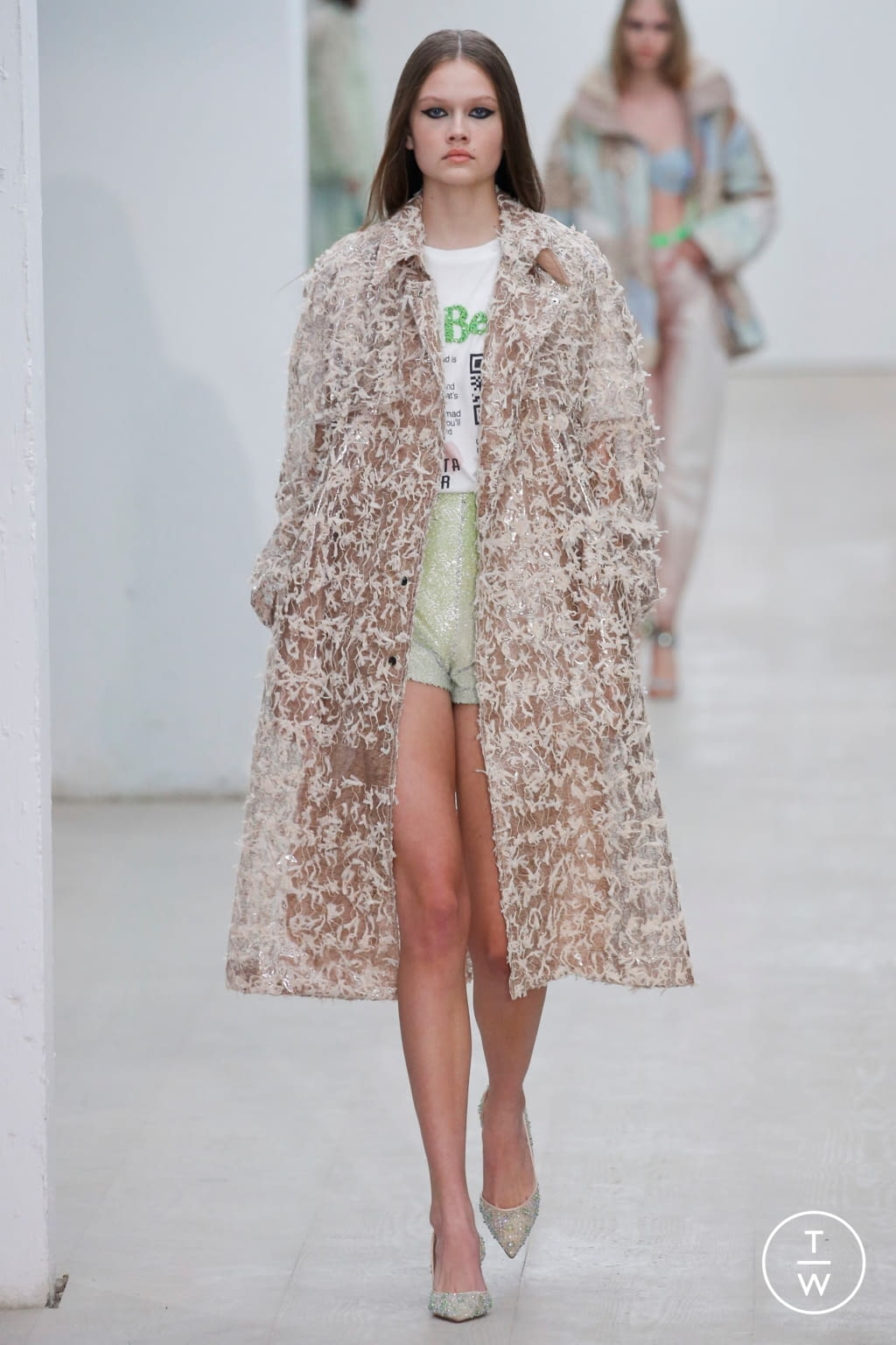 Fashion Week London Spring/Summer 2020 look 2 de la collection Roberta Einer womenswear
