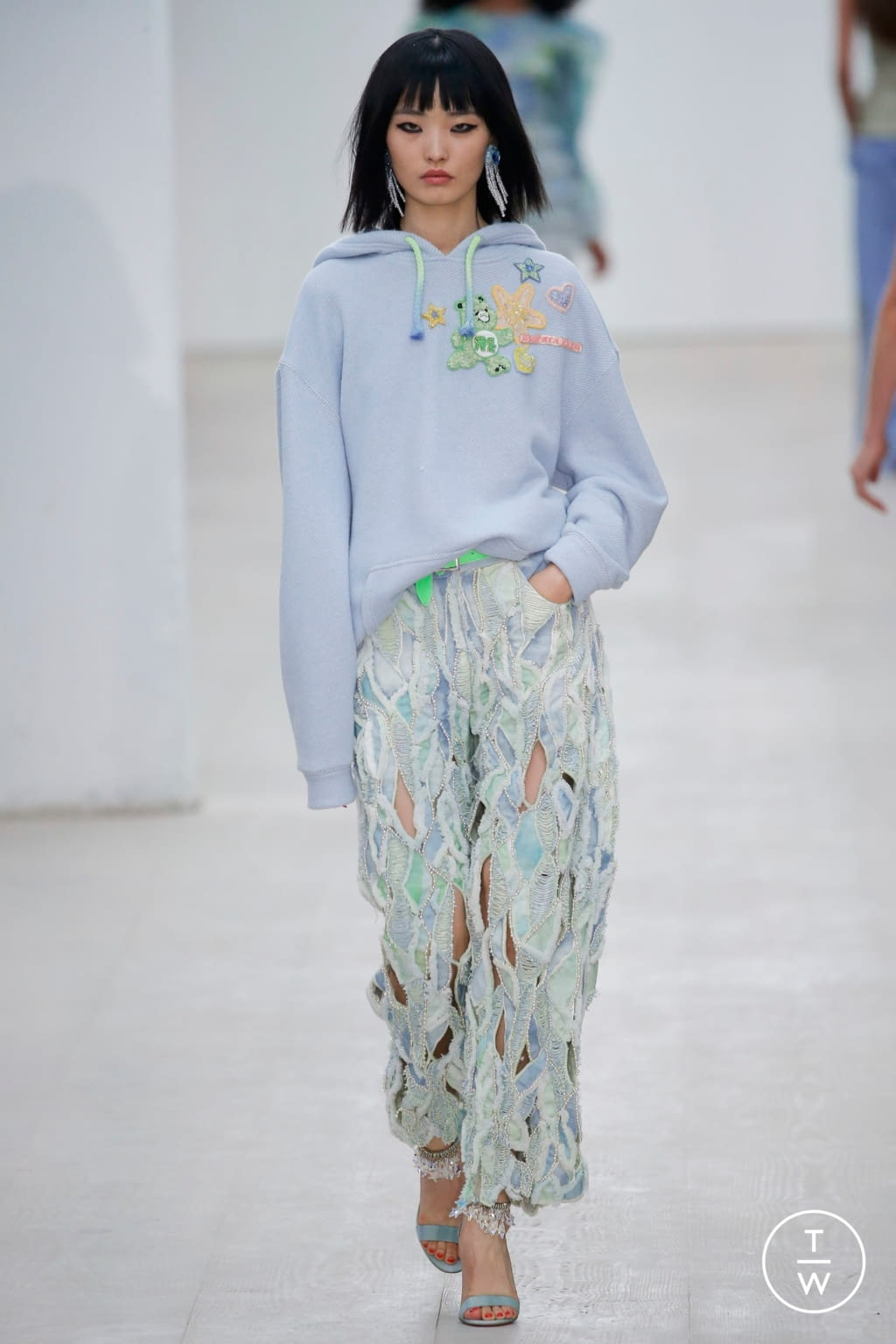 Fashion Week London Spring/Summer 2020 look 9 de la collection Roberta Einer womenswear