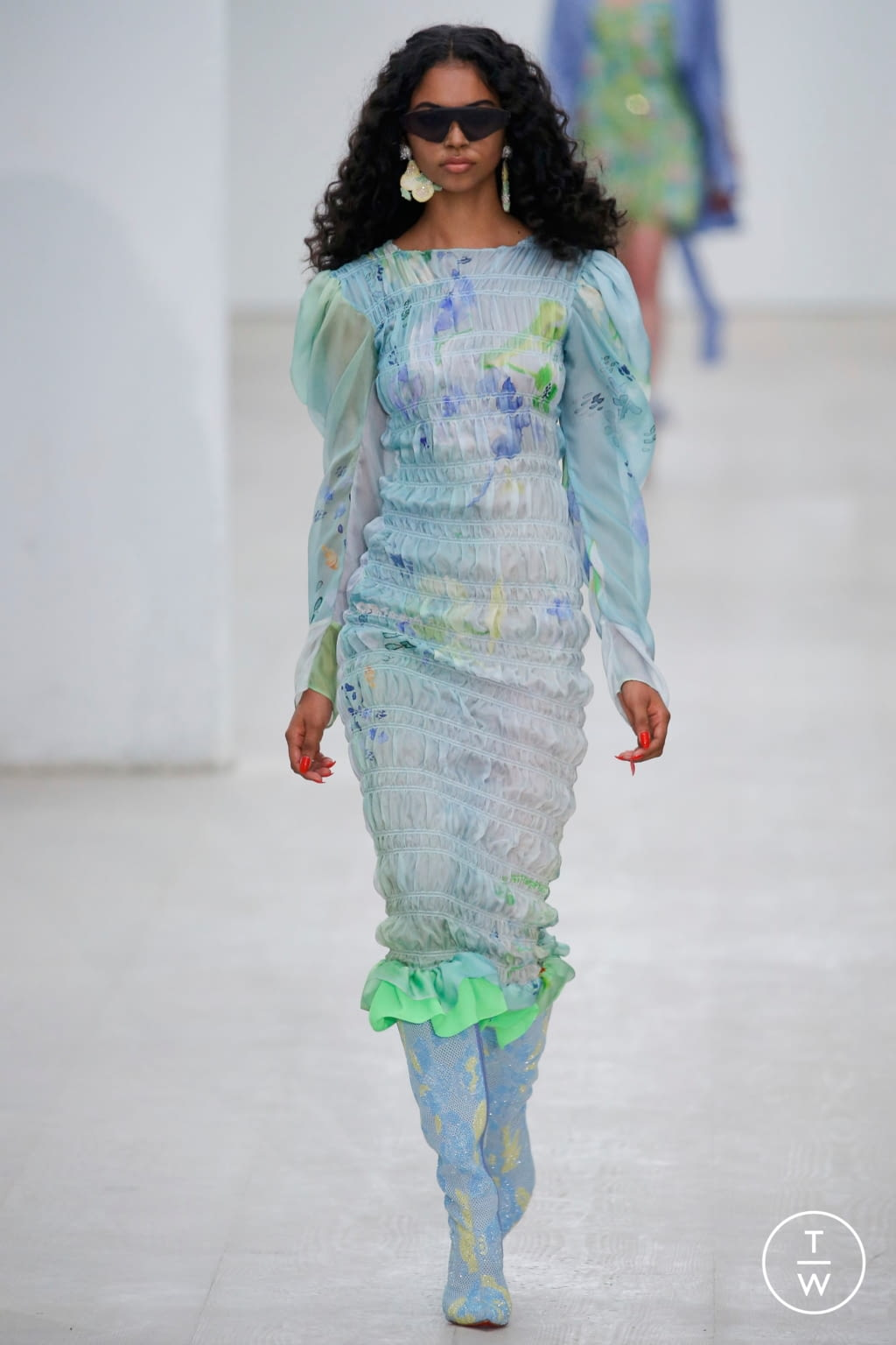Fashion Week London Spring/Summer 2020 look 10 de la collection Roberta Einer womenswear