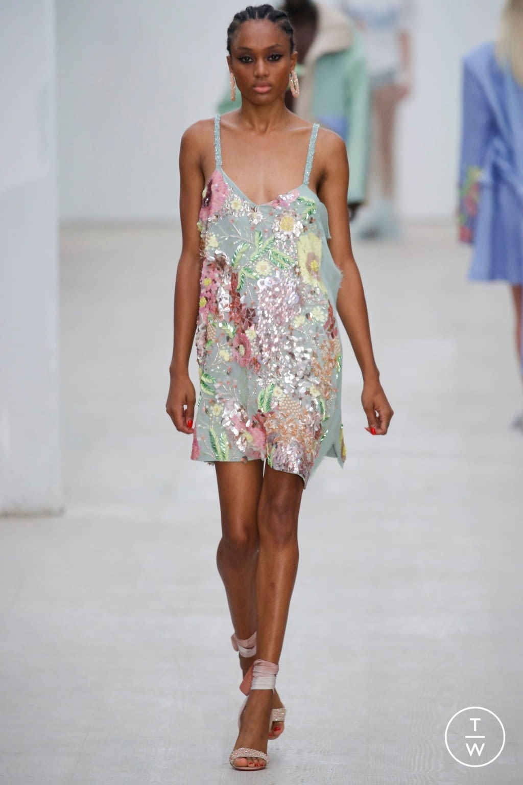 Fashion Week London Spring/Summer 2020 look 13 from the Roberta Einer collection womenswear